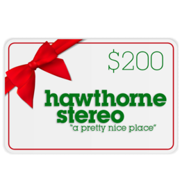 Hawthorne Stereo Gift Card for In-Store Use $200