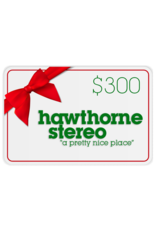 Hawthorne Stereo Gift Card for In-Store Use $300