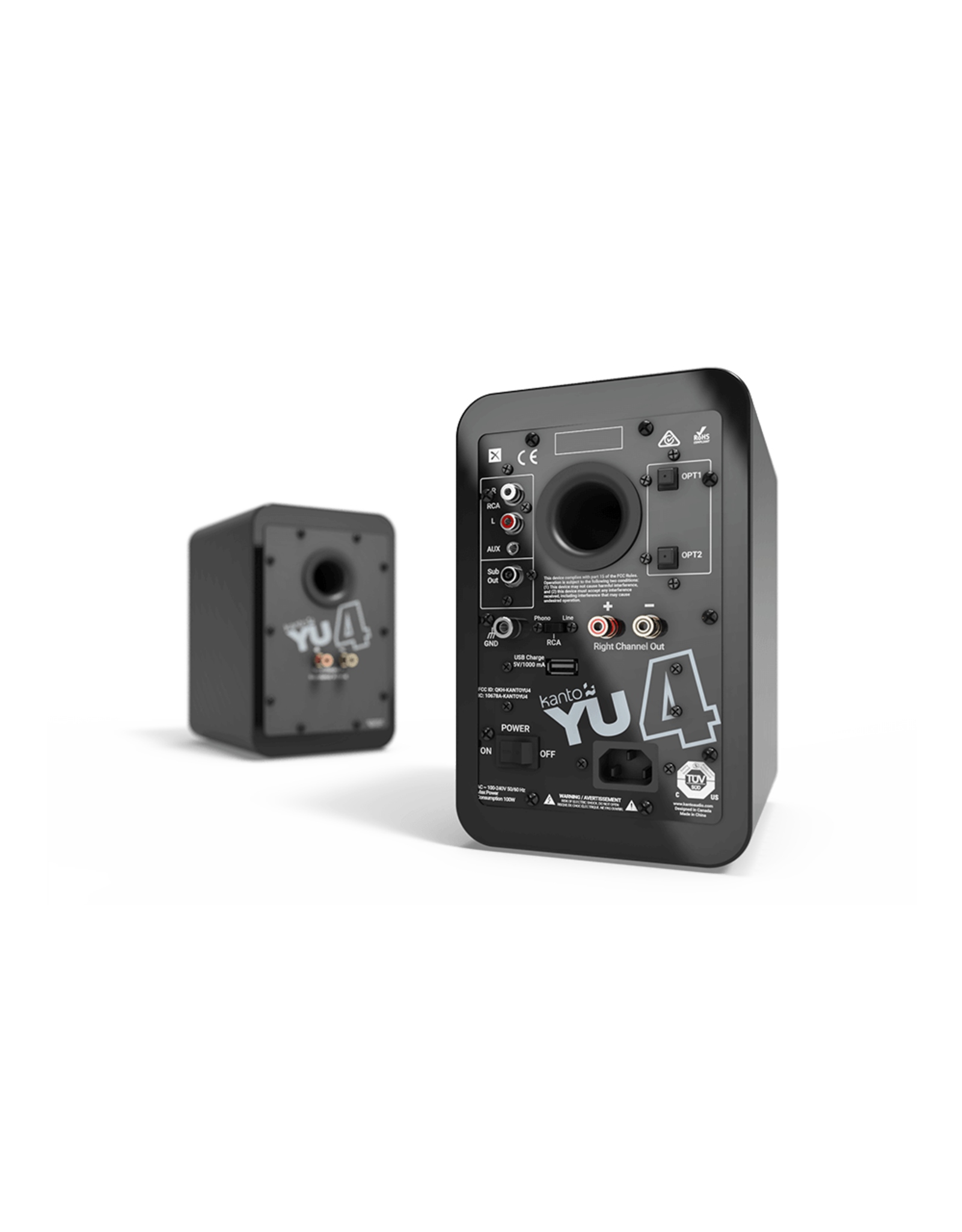 Kanto Kanto YU4 Powered Bluetooth Speakers