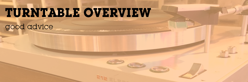 Turntable Overview