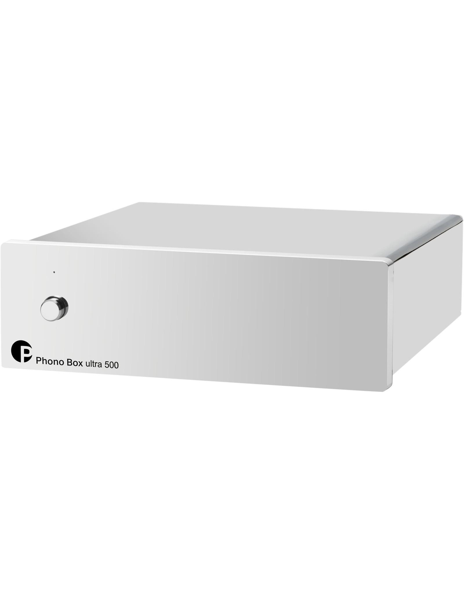 Pro-Ject Pro-Ject Phono Box Ultra 500 MM/MC Phono Preamp Chrome^