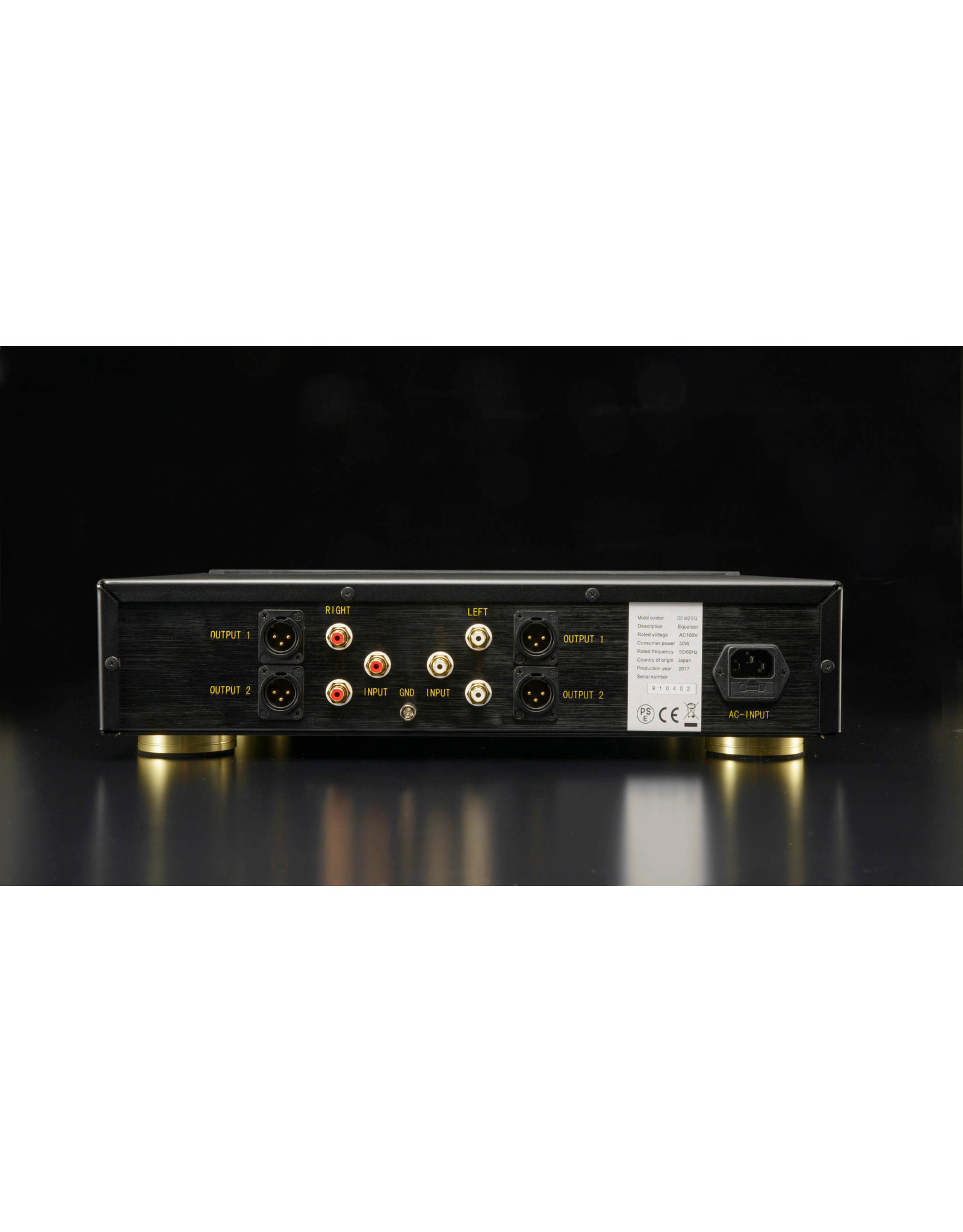 DS Audio DS Audio DS-W2 Phono Preamp