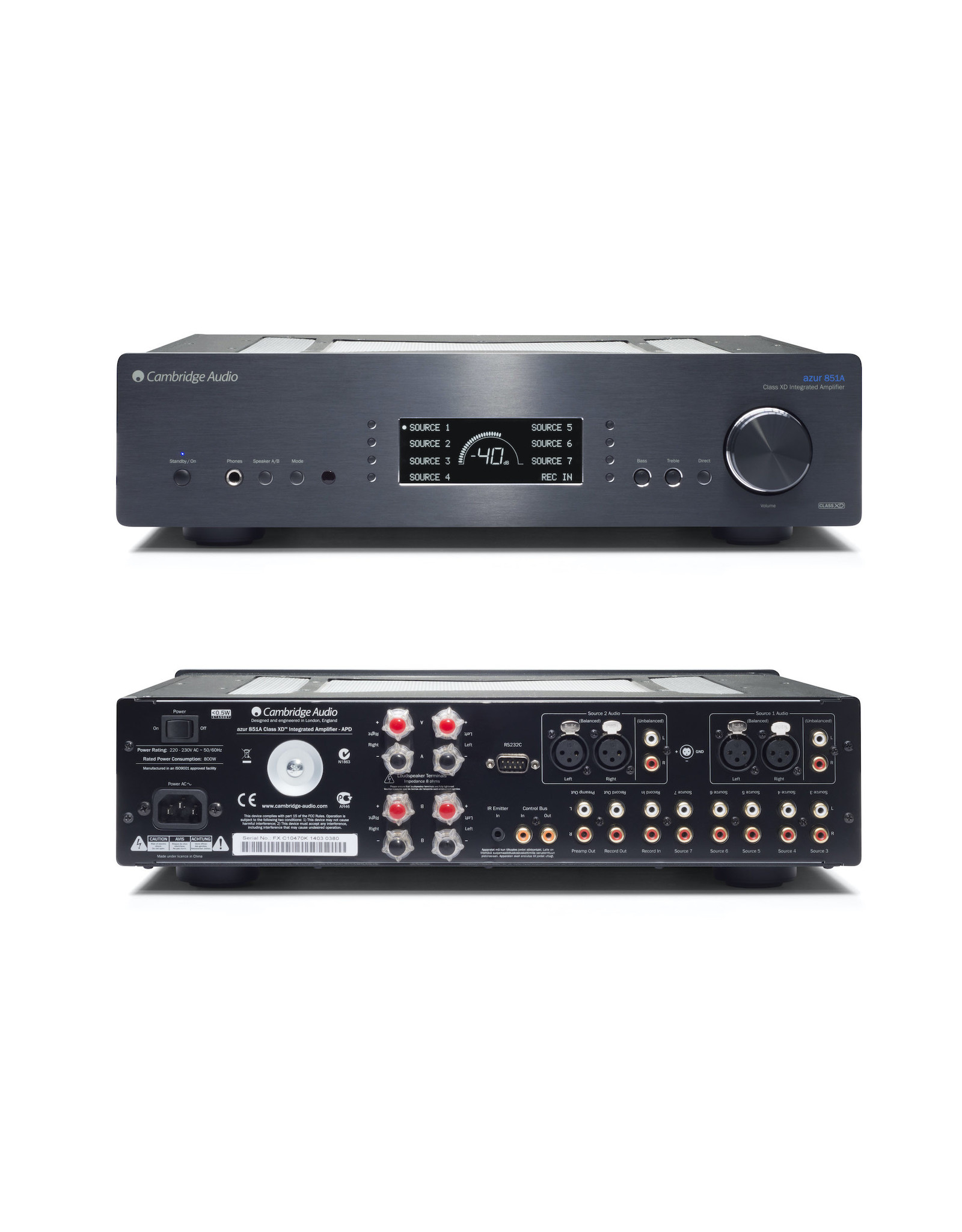Cambridge Audio Cambridge Audio Azur 851A Integrated Amplifier