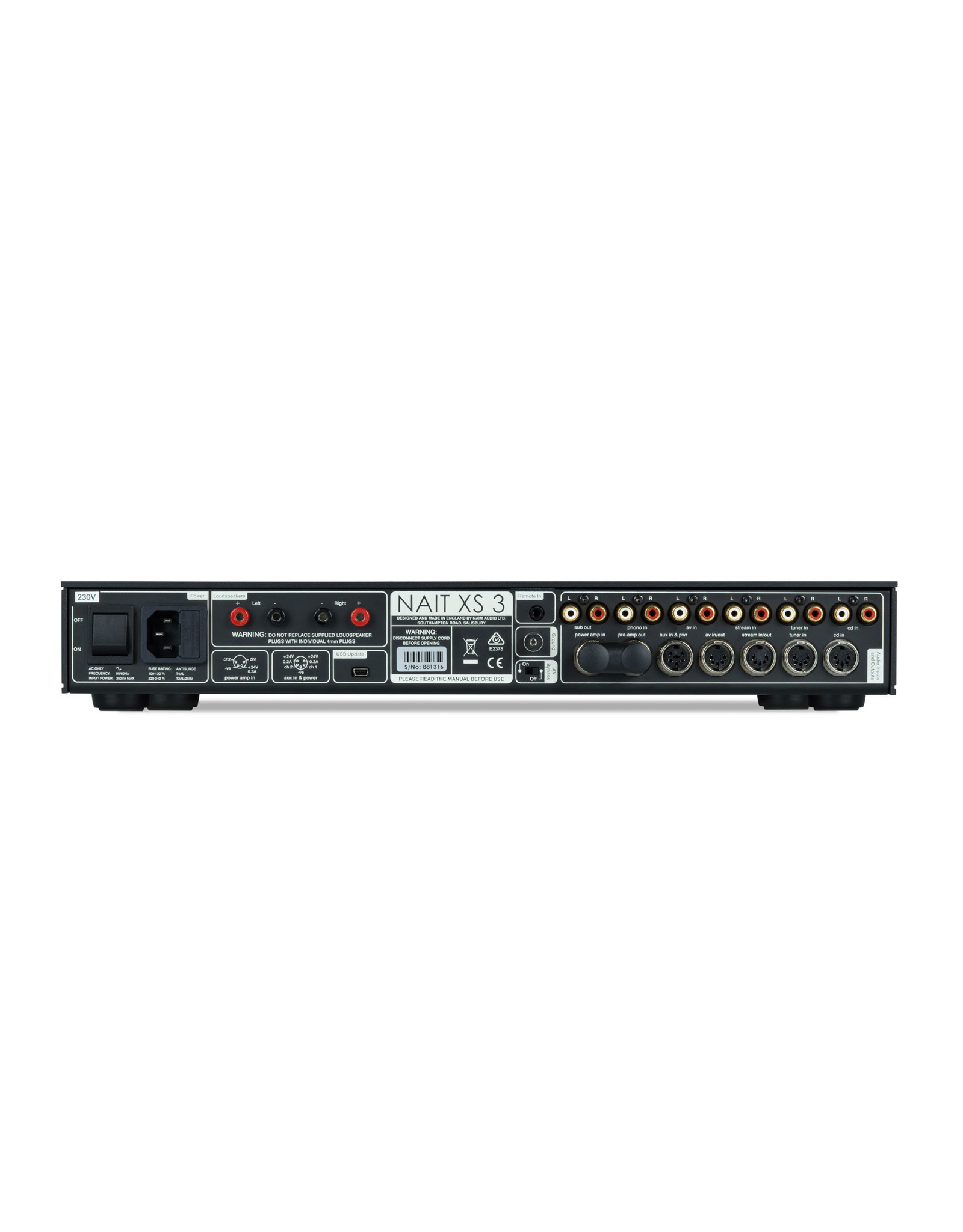 Naim Audio Naim Audio NAIT XS3 Integrated Amplifier