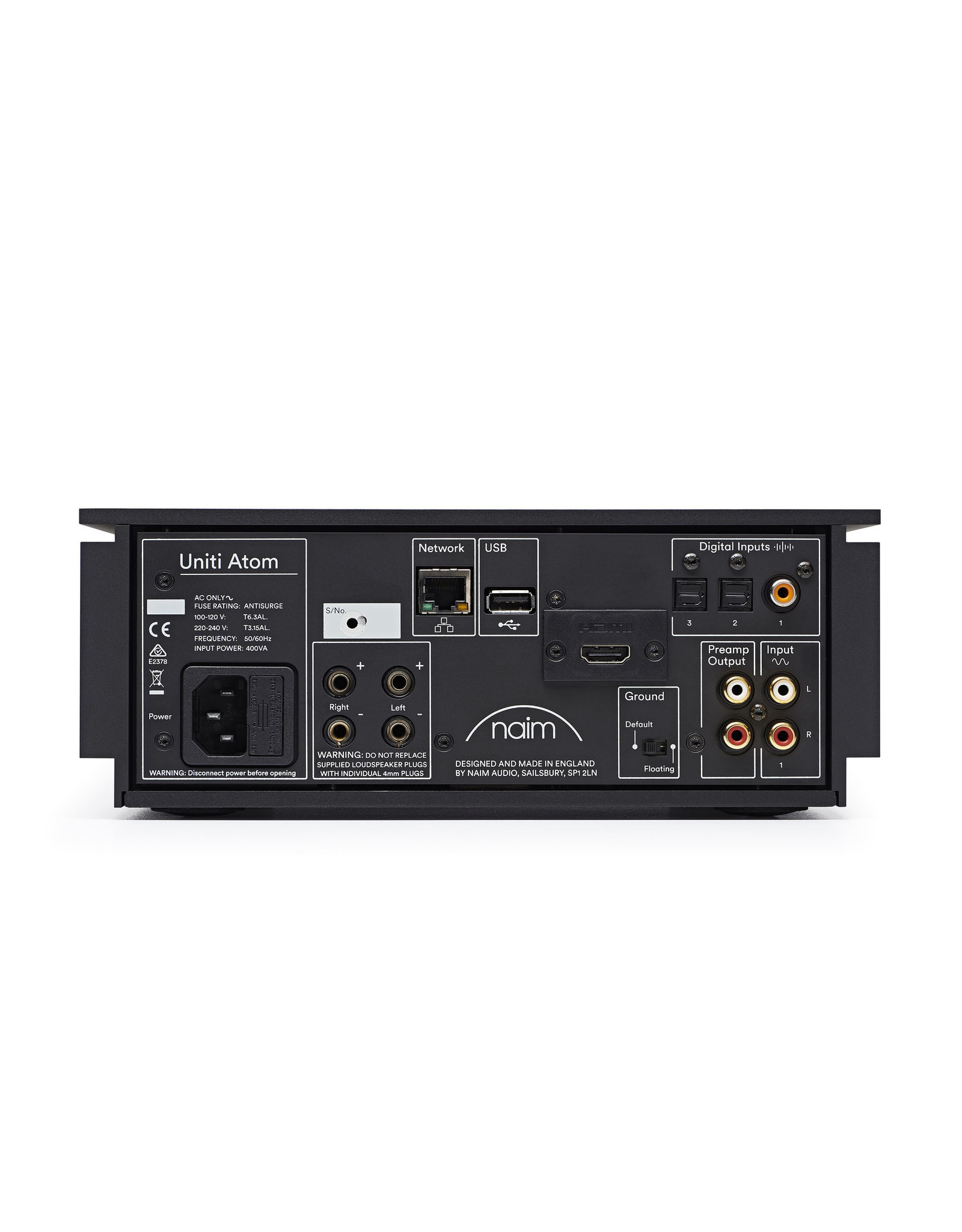 Naim Audio Naim Audio Uniti Atom (With HDMI) All-In-One