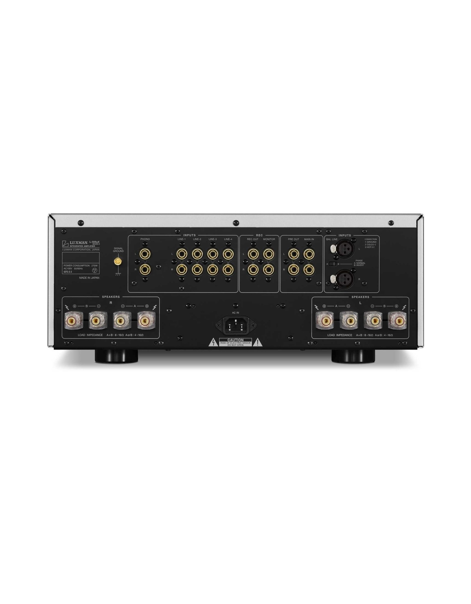 Luxman Luxman L-505uXII Class AB Integrated Amplifier
