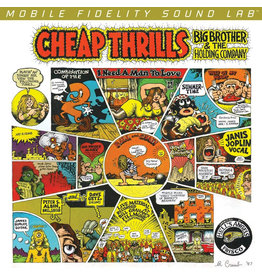 Big Brother and the Holding Company with Janis Joplin - Cheap Thrills 180g 45RPM 2LP