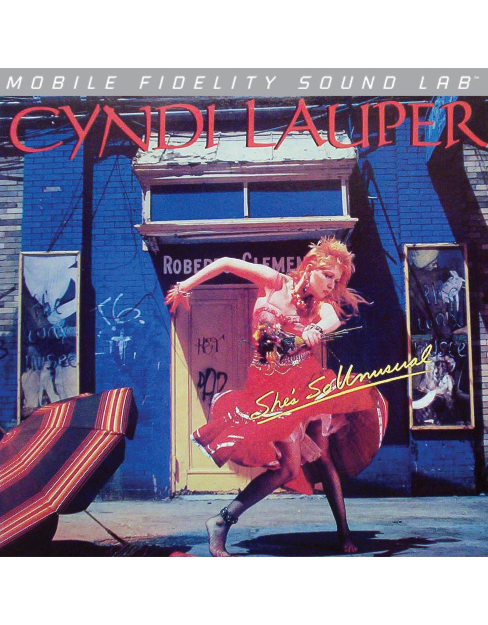 MoFi Cyndi Lauper - She's So Unusual LP