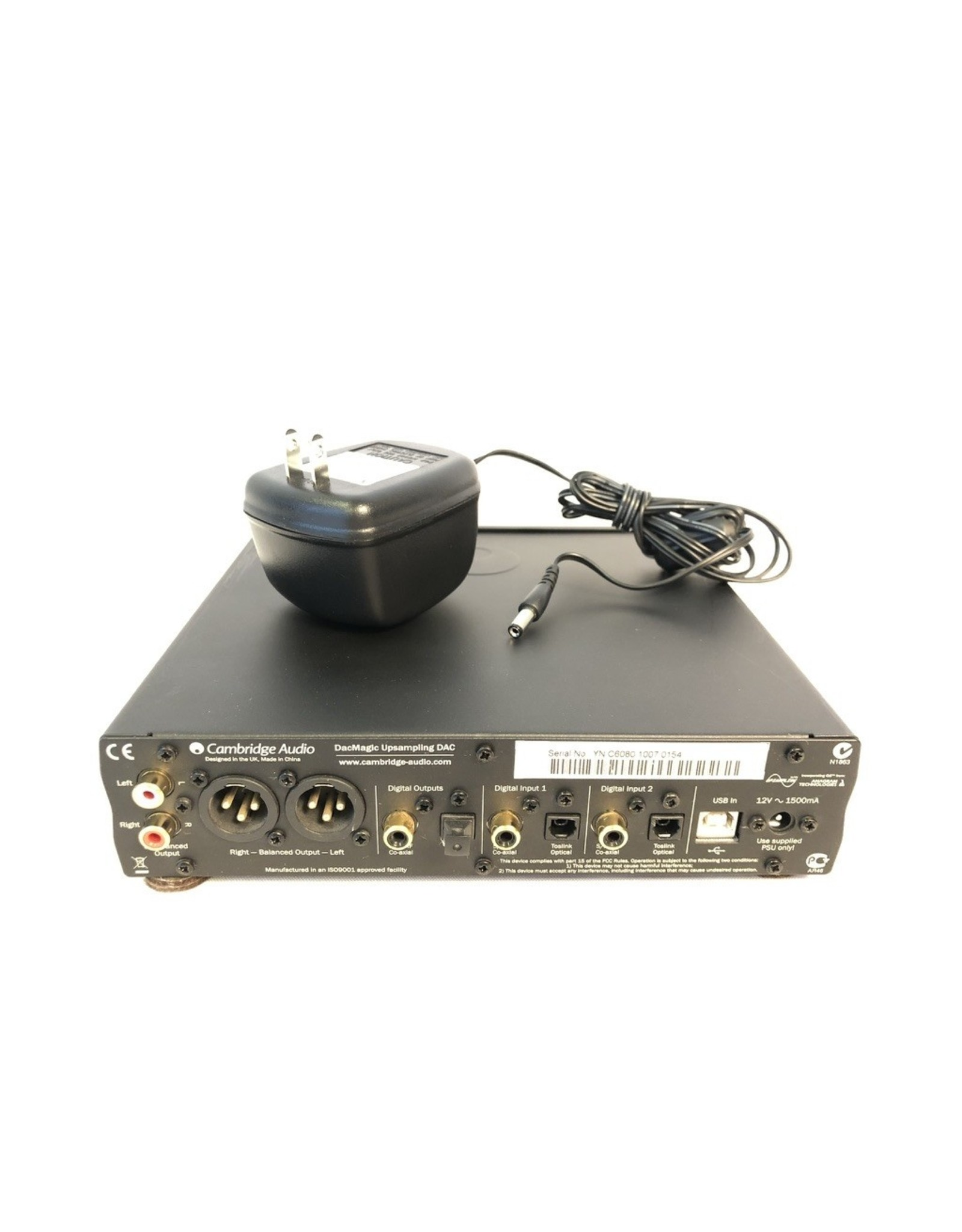 Cambridge Audio Cambridge Audio DacMagic DAC Black USED