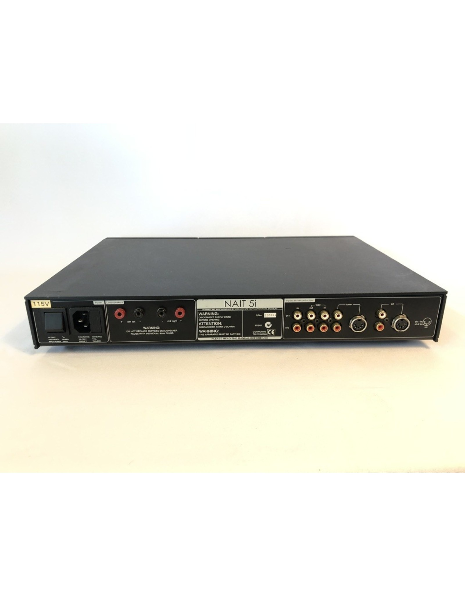 Naim Audio Naim Audio Nait5i Integrated Amp USED