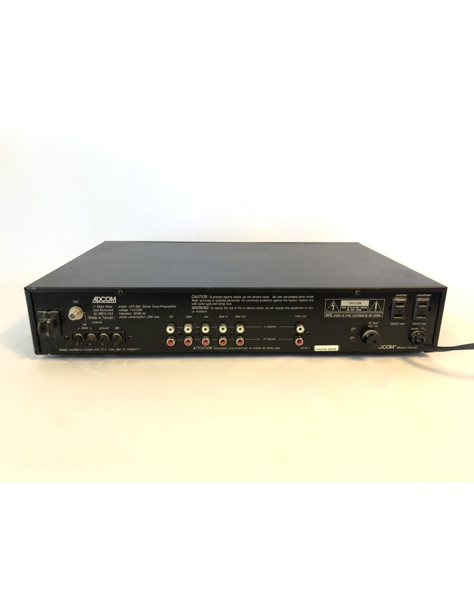 Adcom Adcom GTP-350 Tuner/Preamp USED