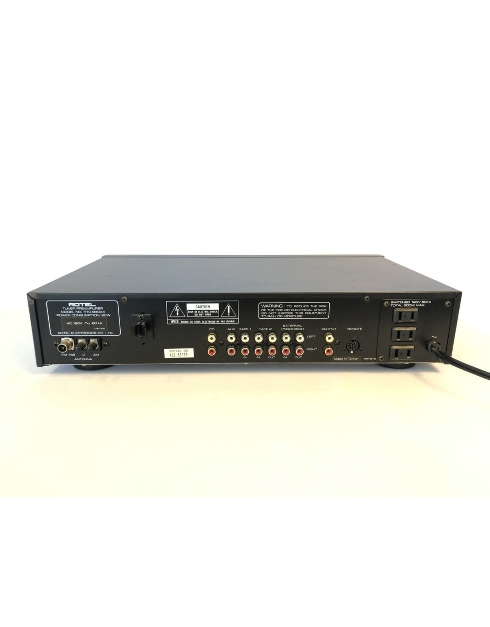 Rotel Rotel RTC-940AX Tuner/Preamp USED