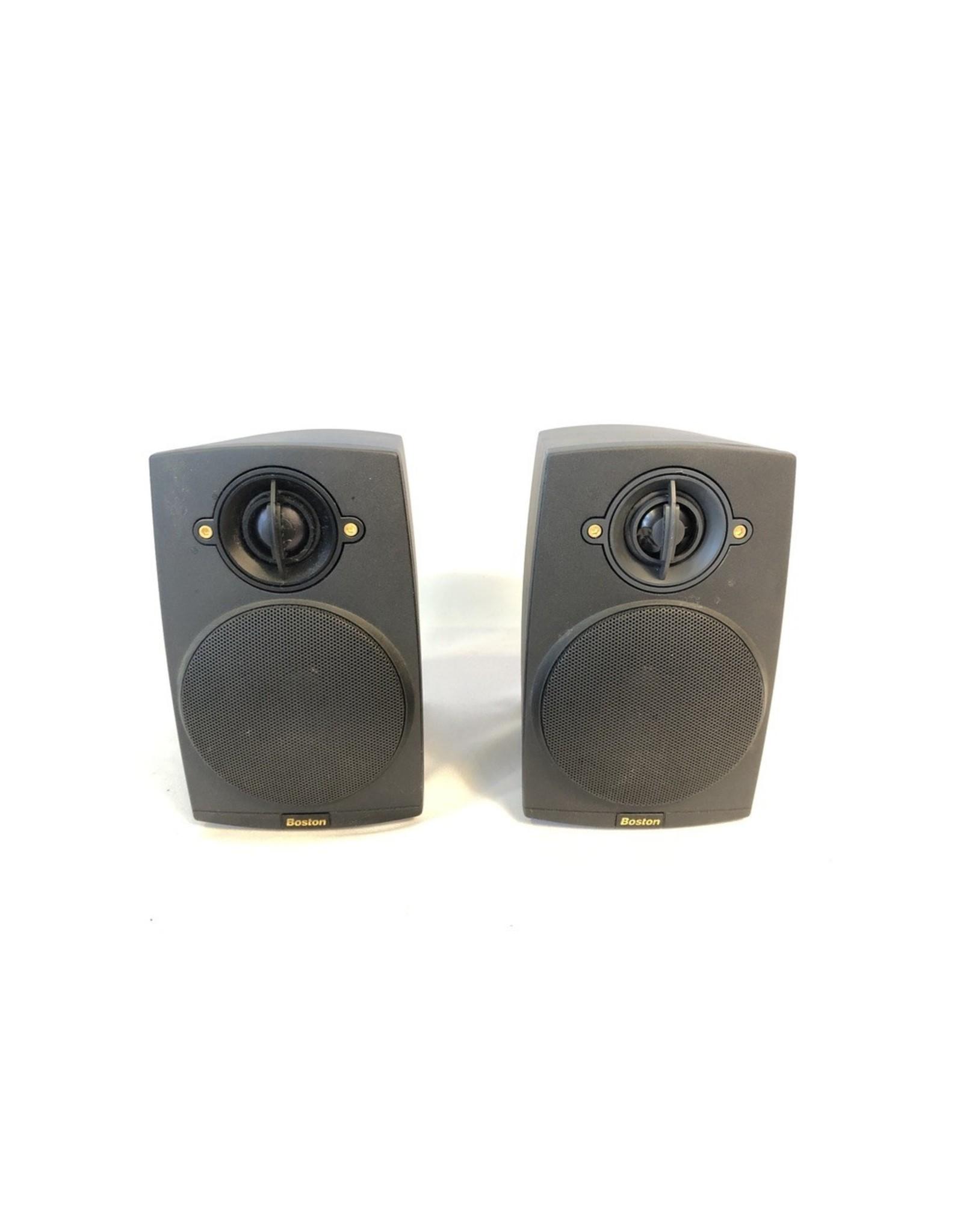 Boston Acoustics Boston Acoustics Micro90x II Bookshelf Speakers USED