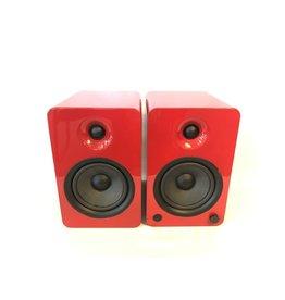 Kanto Kanto YU6 Powered Bluetooth Speakers Gloss Red USED