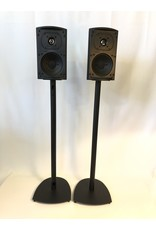 Def Tech Def Tech ProMonitor 100 Bookshelf Speakers w/ Stands USED