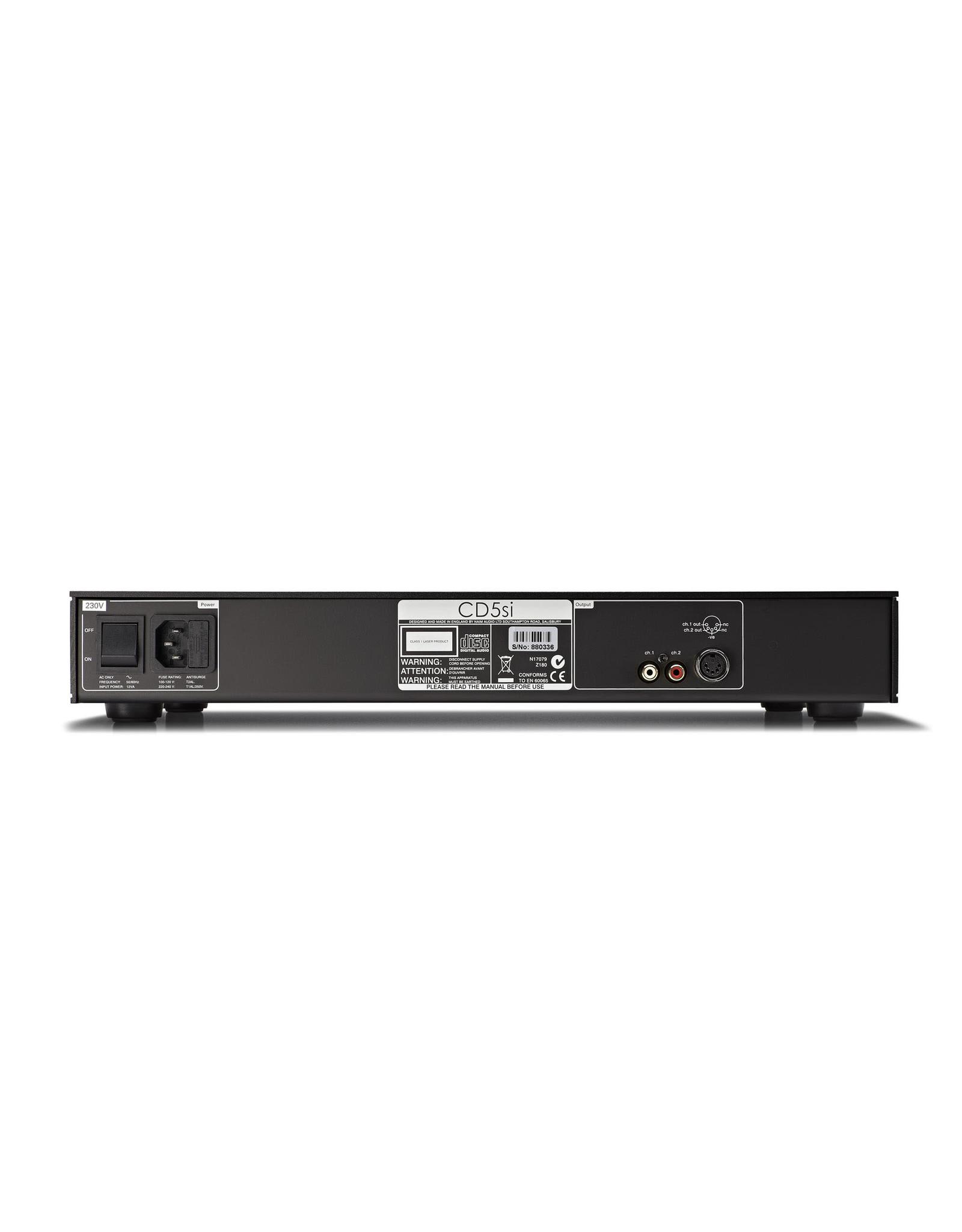 Naim Audio Naim Audio CD5si CD Player USED (Factory Refurbished B-Stock)