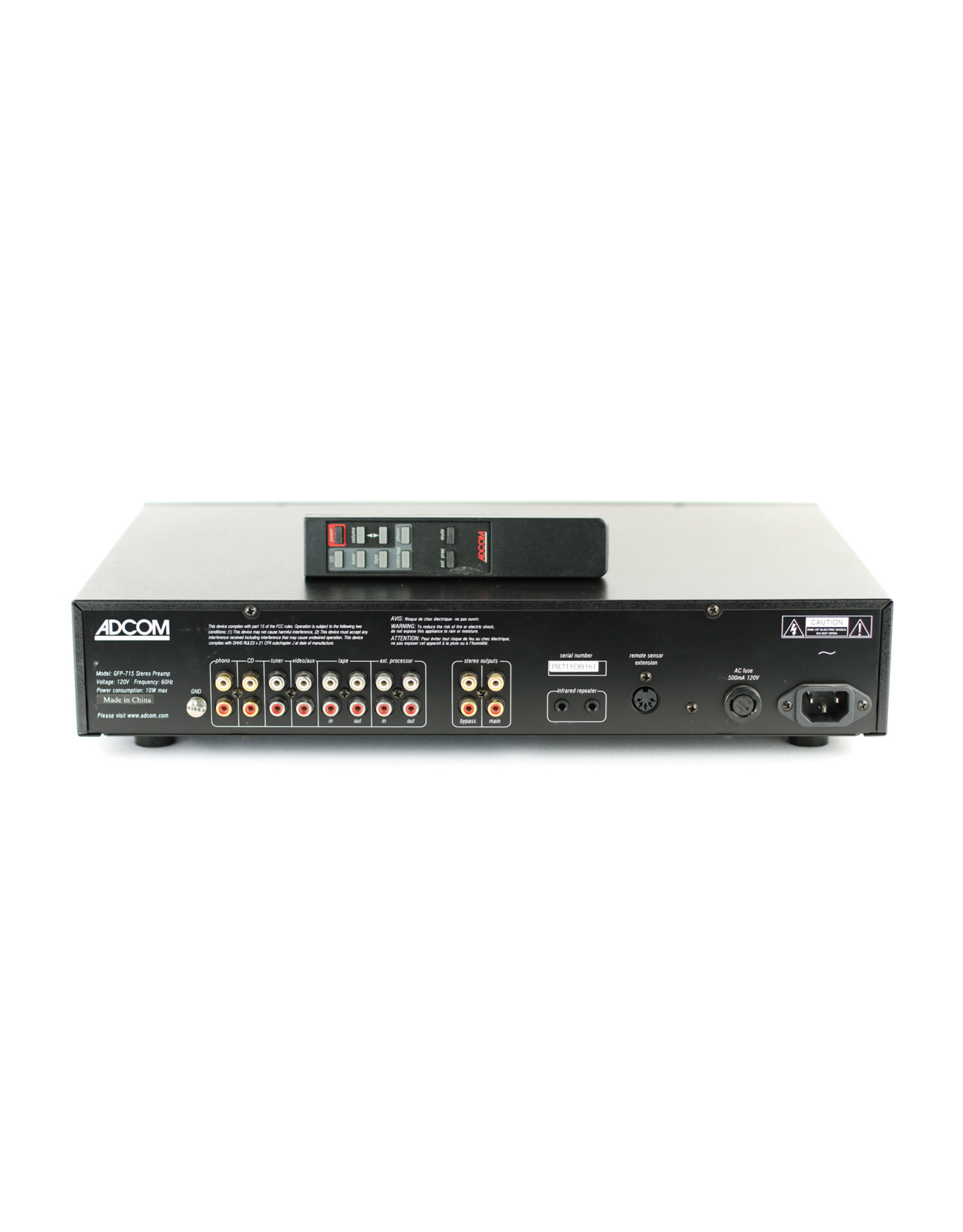 Adcom Adcom GFP-715 Preamp USED