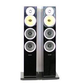 B&W B&W CM8 Floorstanding Speakers Gloss Black USED
