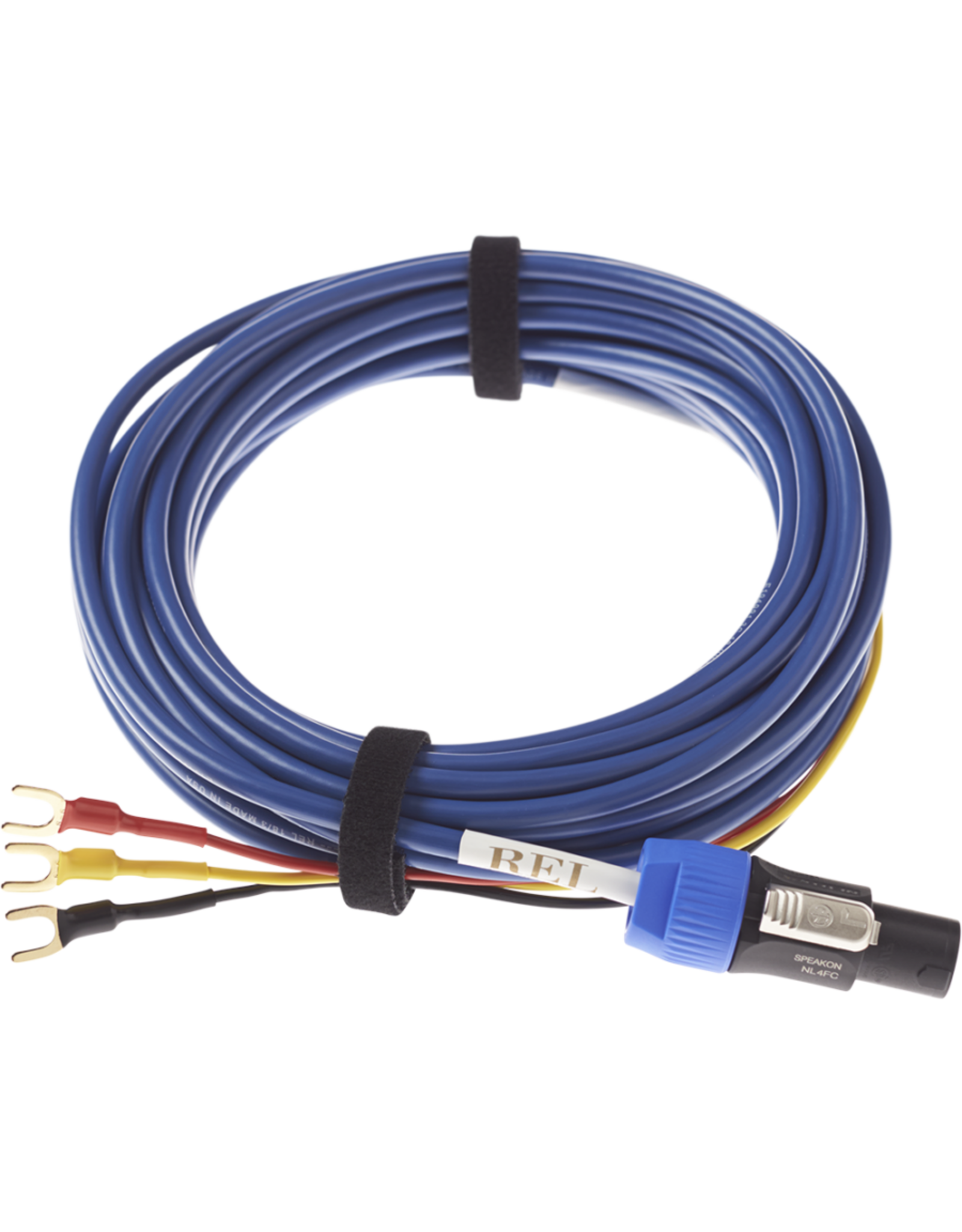 REL REL Bassline Blue Subwoofer Signal Cable