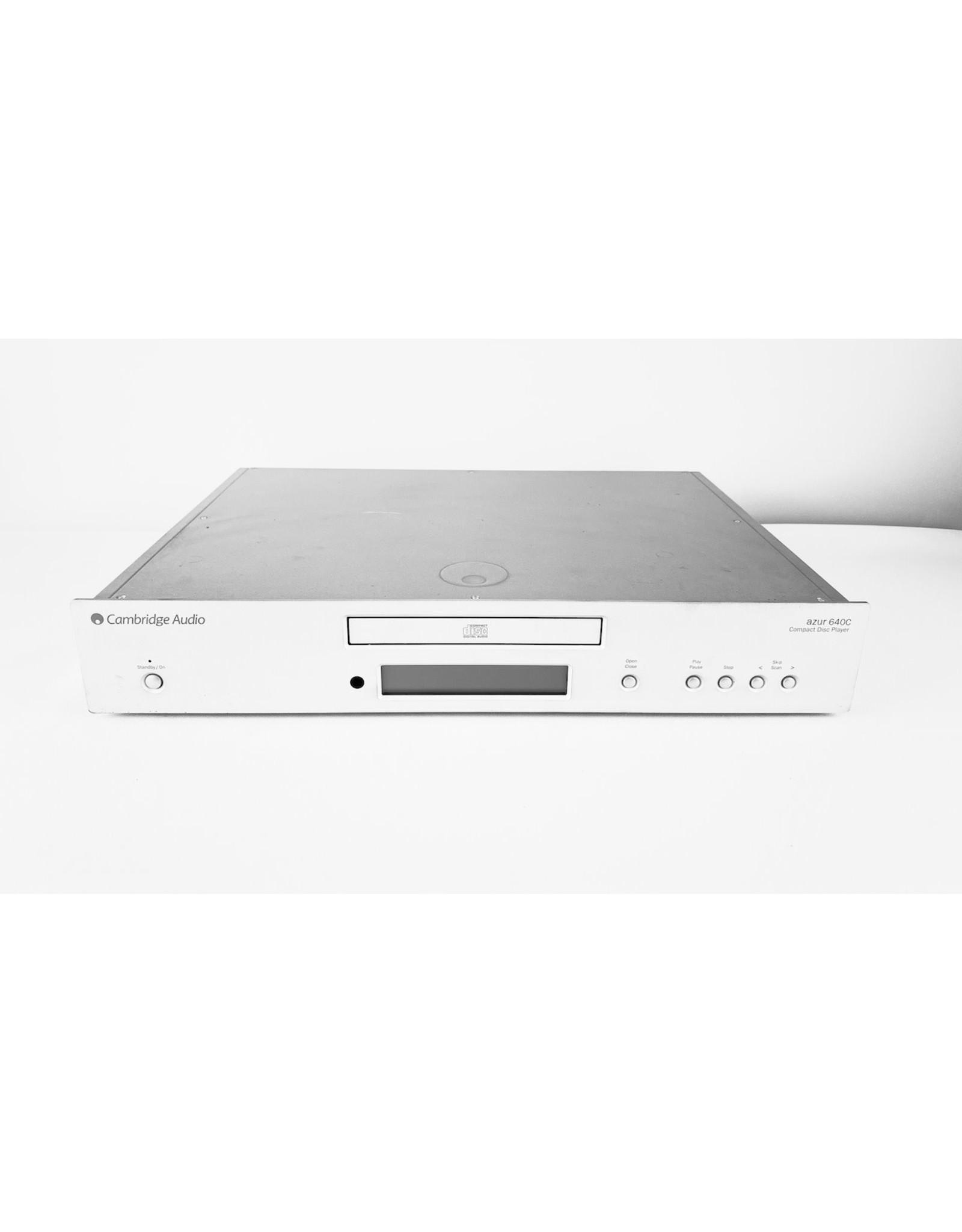 Cambridge Audio Cambridge Audio 640C v2 Silver CD Player USED