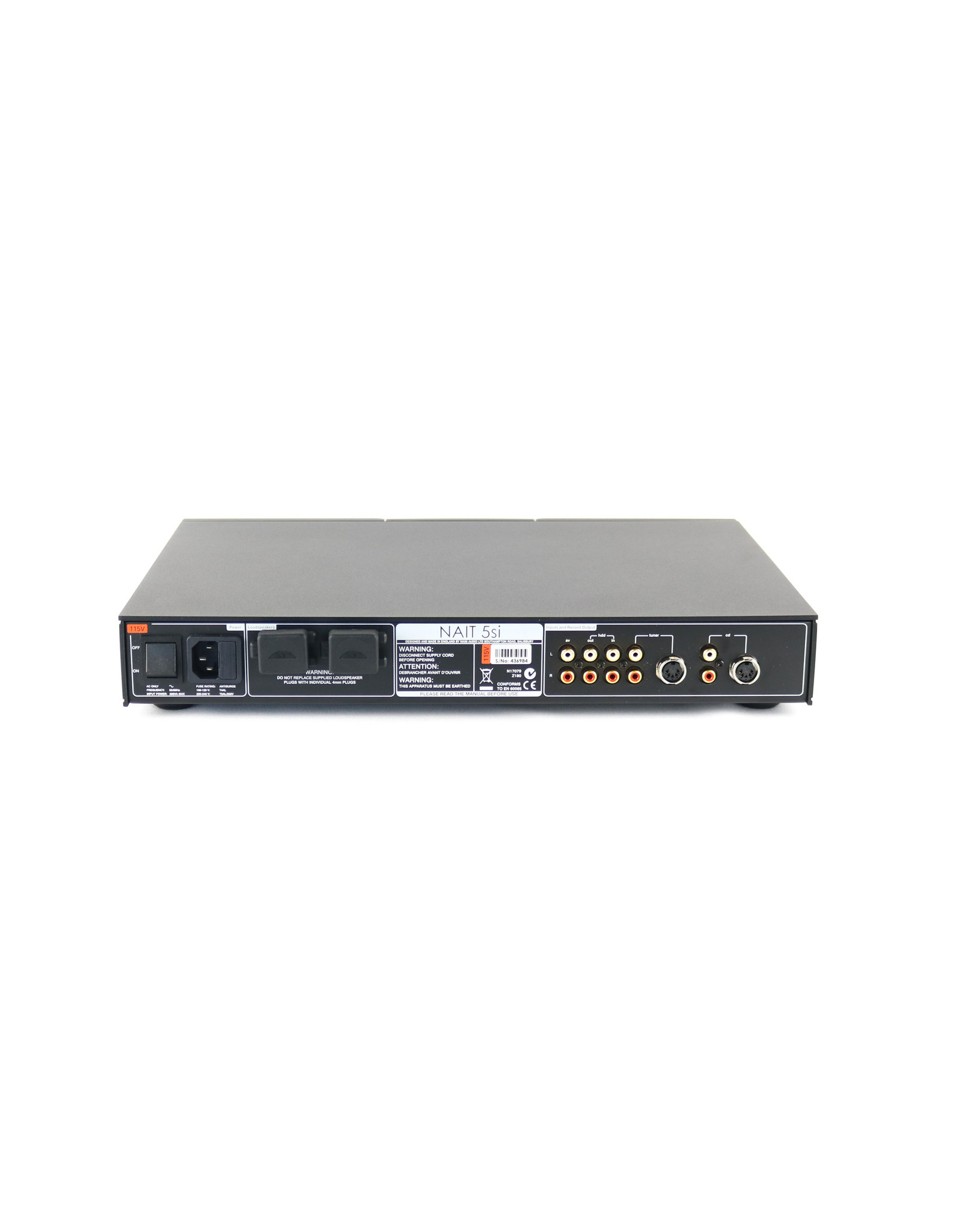 Naim Audio Naim Audio NAIT5si Integrated Amplifier USED