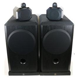B&W B&W 801 Series 3 Black Floorstanding Speakers USED