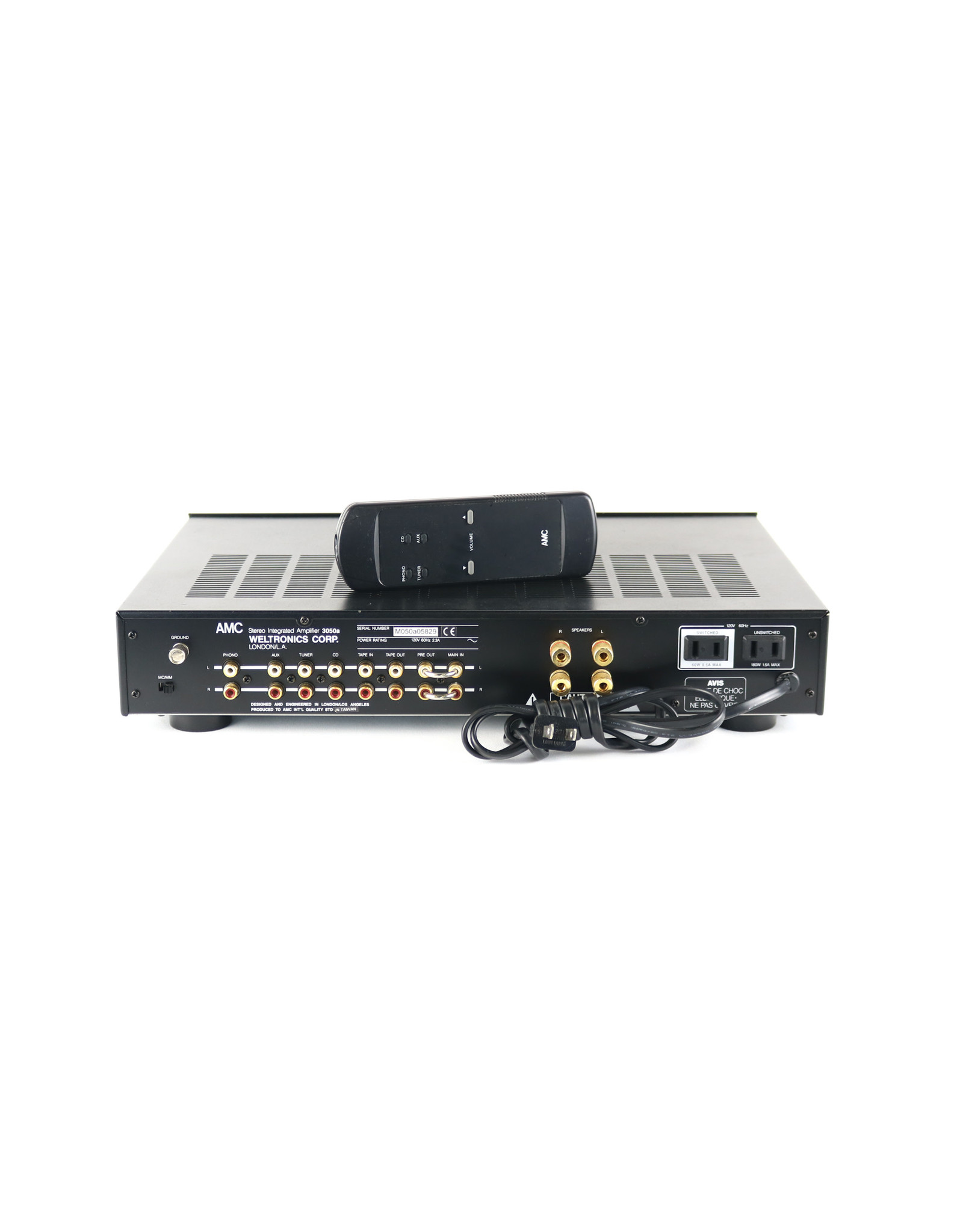 AMC AMC 3050A Integrated Amp USED