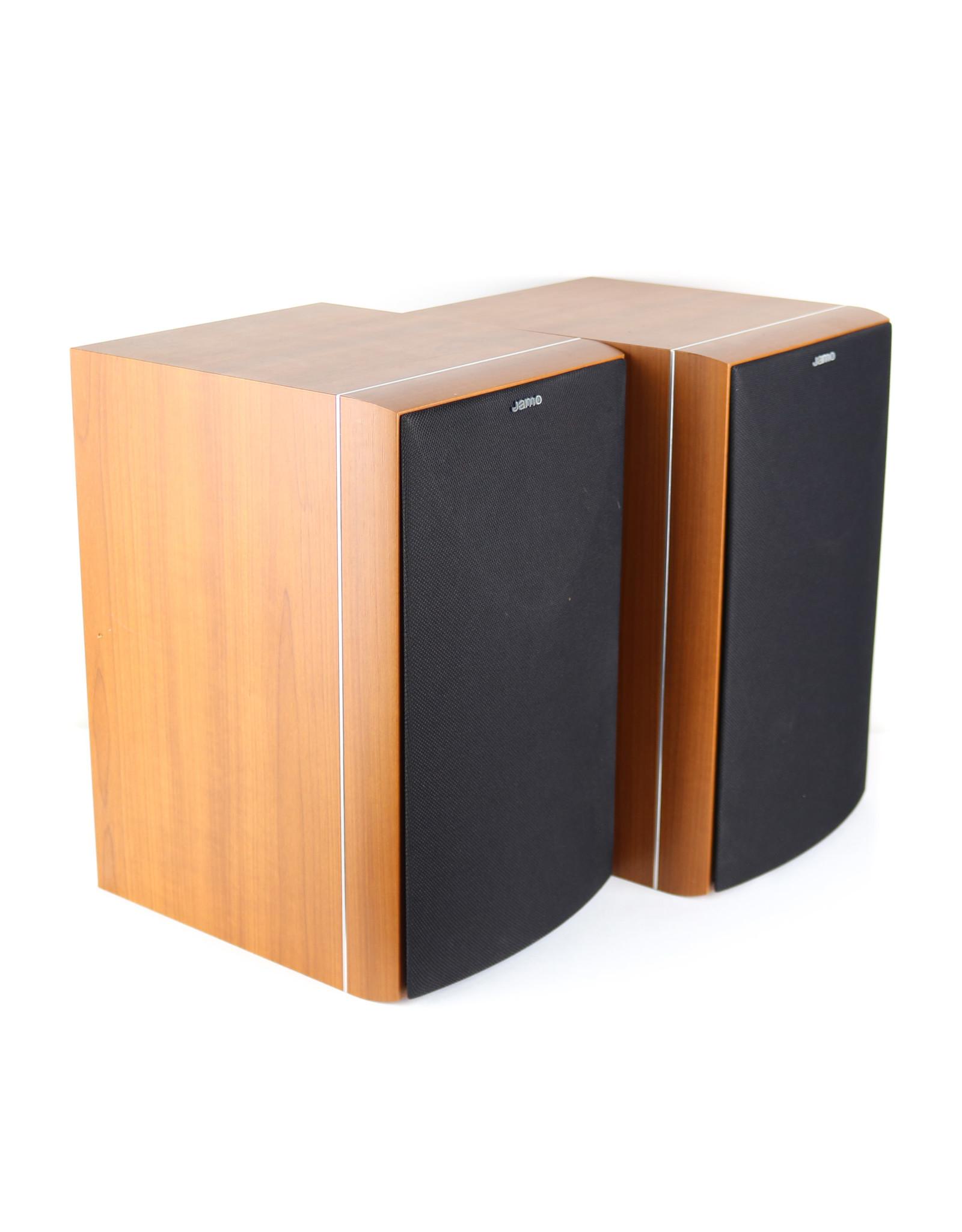 Jamo Jamo E610 Bookshelf Speakers Cherry USED