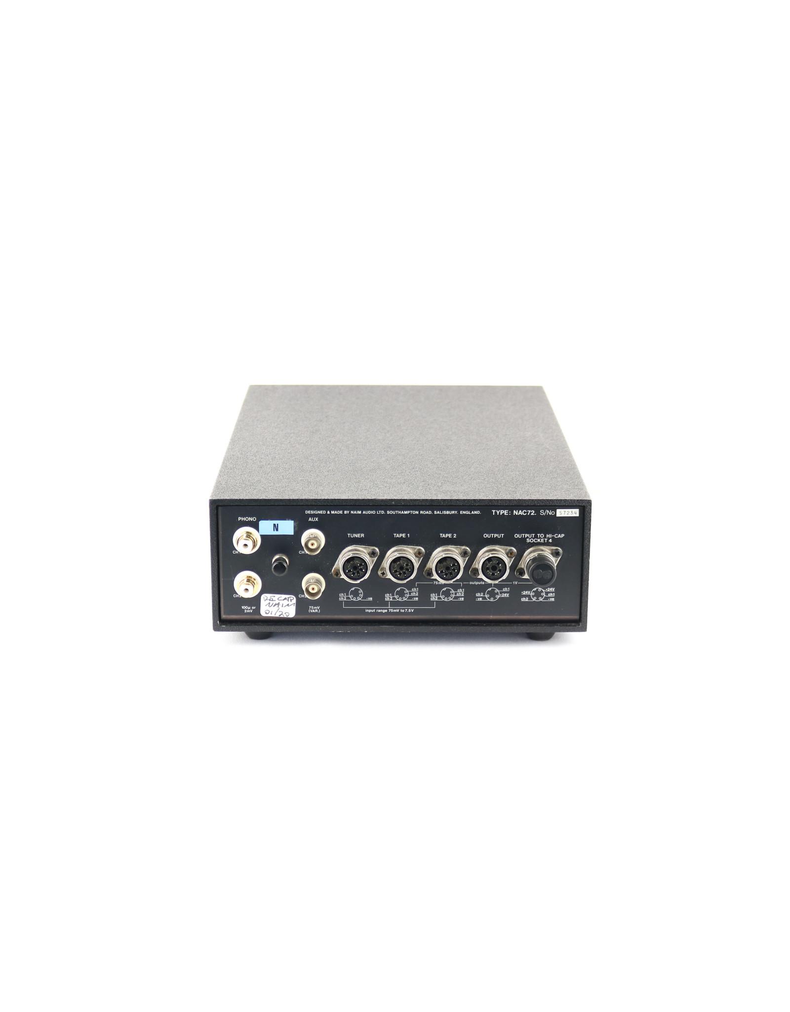 Naim Audio Naim Audio NAC 72 Preamp Olive RECAPPED 2020 (57234) USED