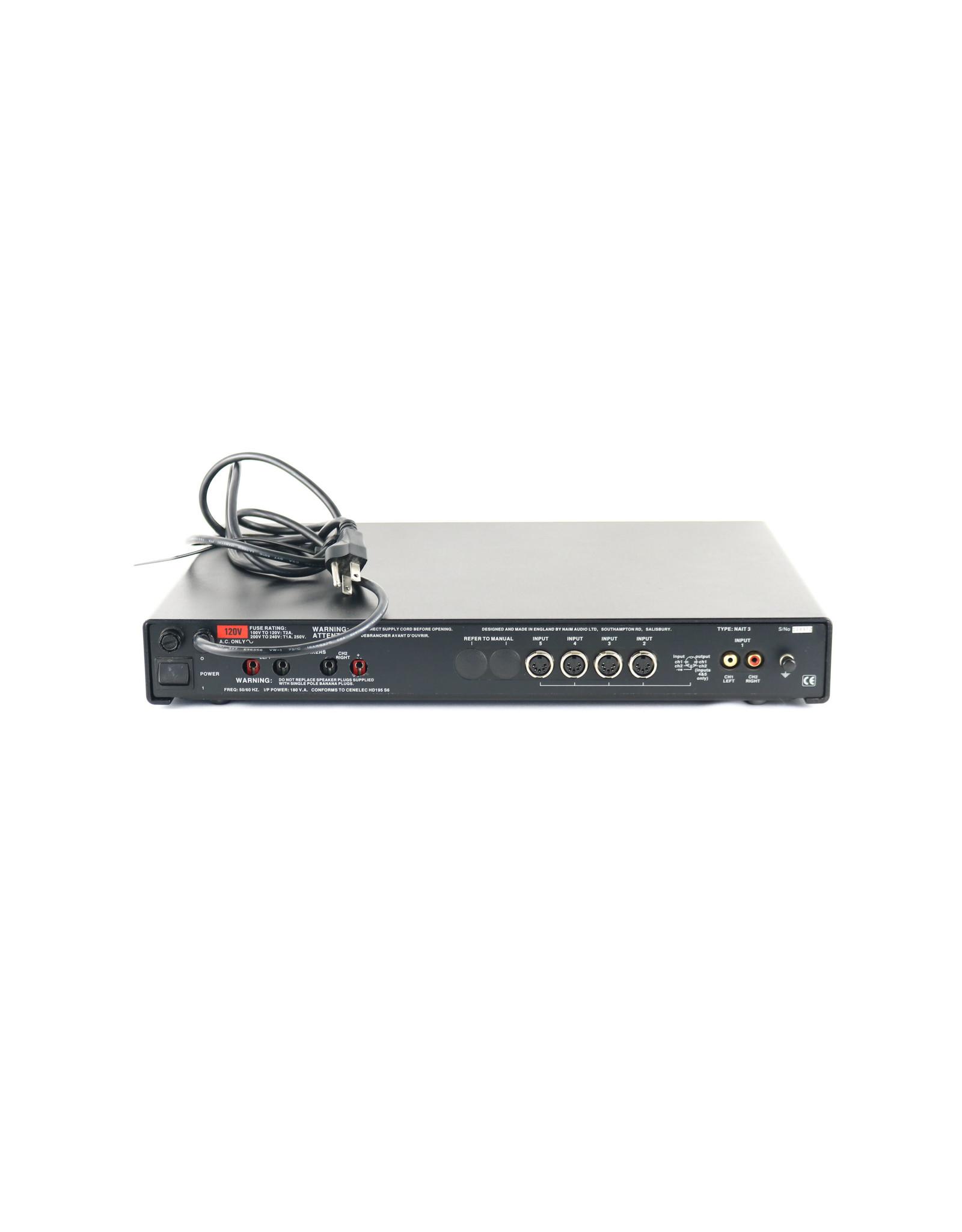Naim Audio Naim Audio NAIT3 Integrated Amp RECAPPED 2020 (128972) USED