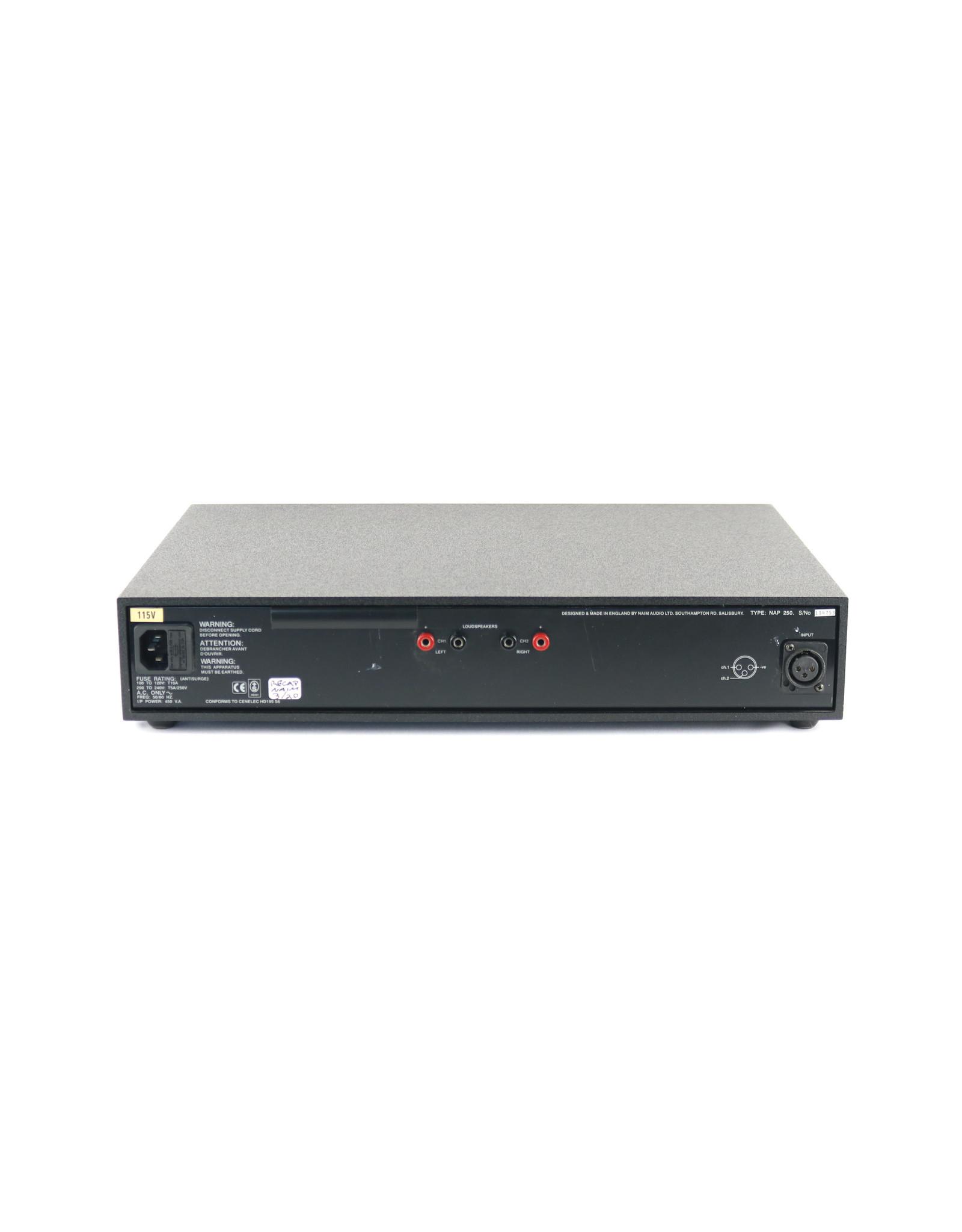 Naim Audio Naim Audio NAP 250 Power Amp Olive RECAPPED 2020 (134753) USED