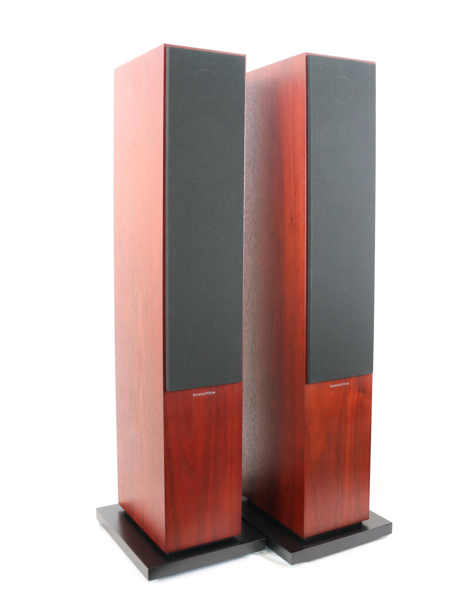 B&W B&W 704 S2 Floorstanding Speakers Rosenut USED