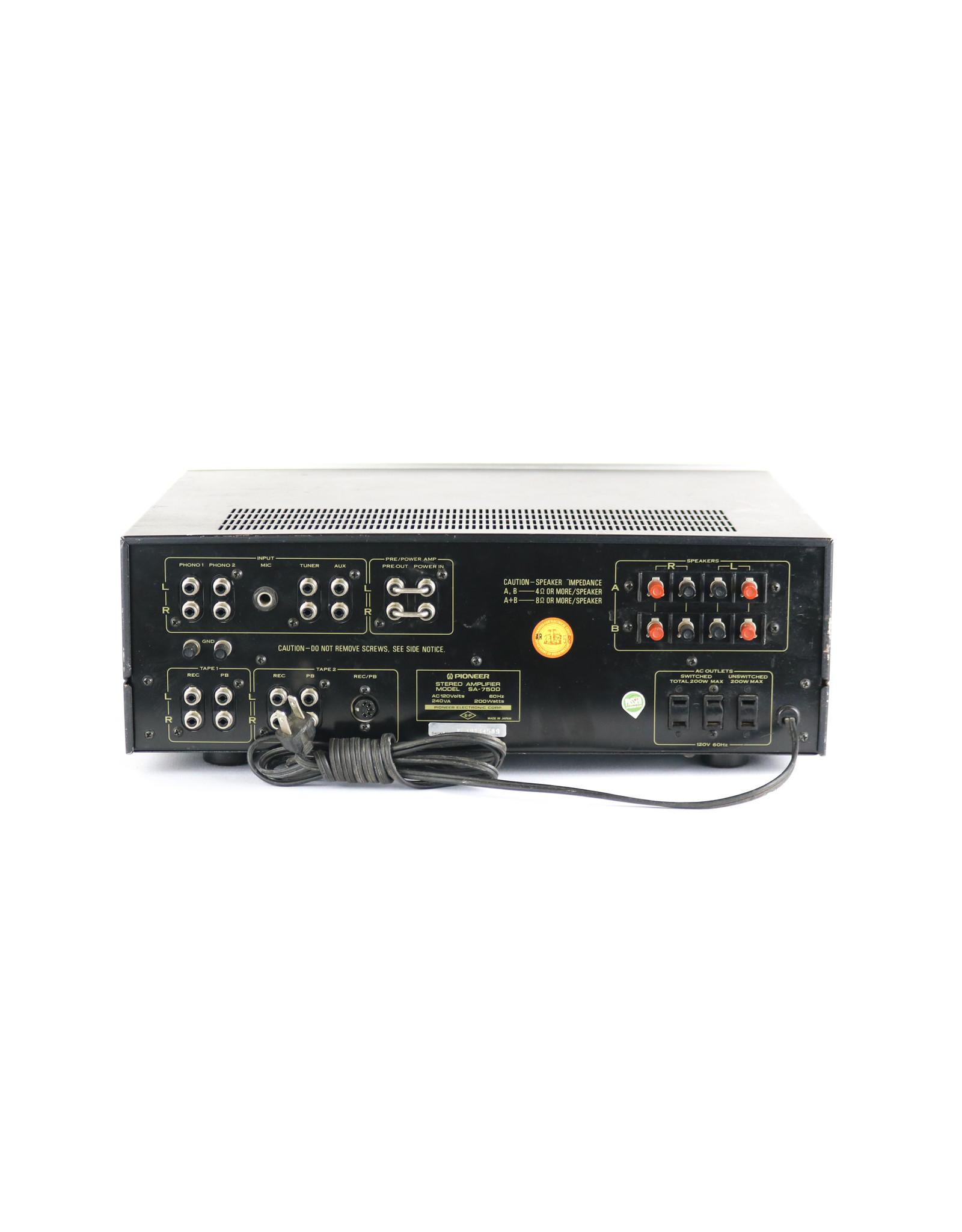 Pioneer Pioneer SA-7500 Integrated Amp USED