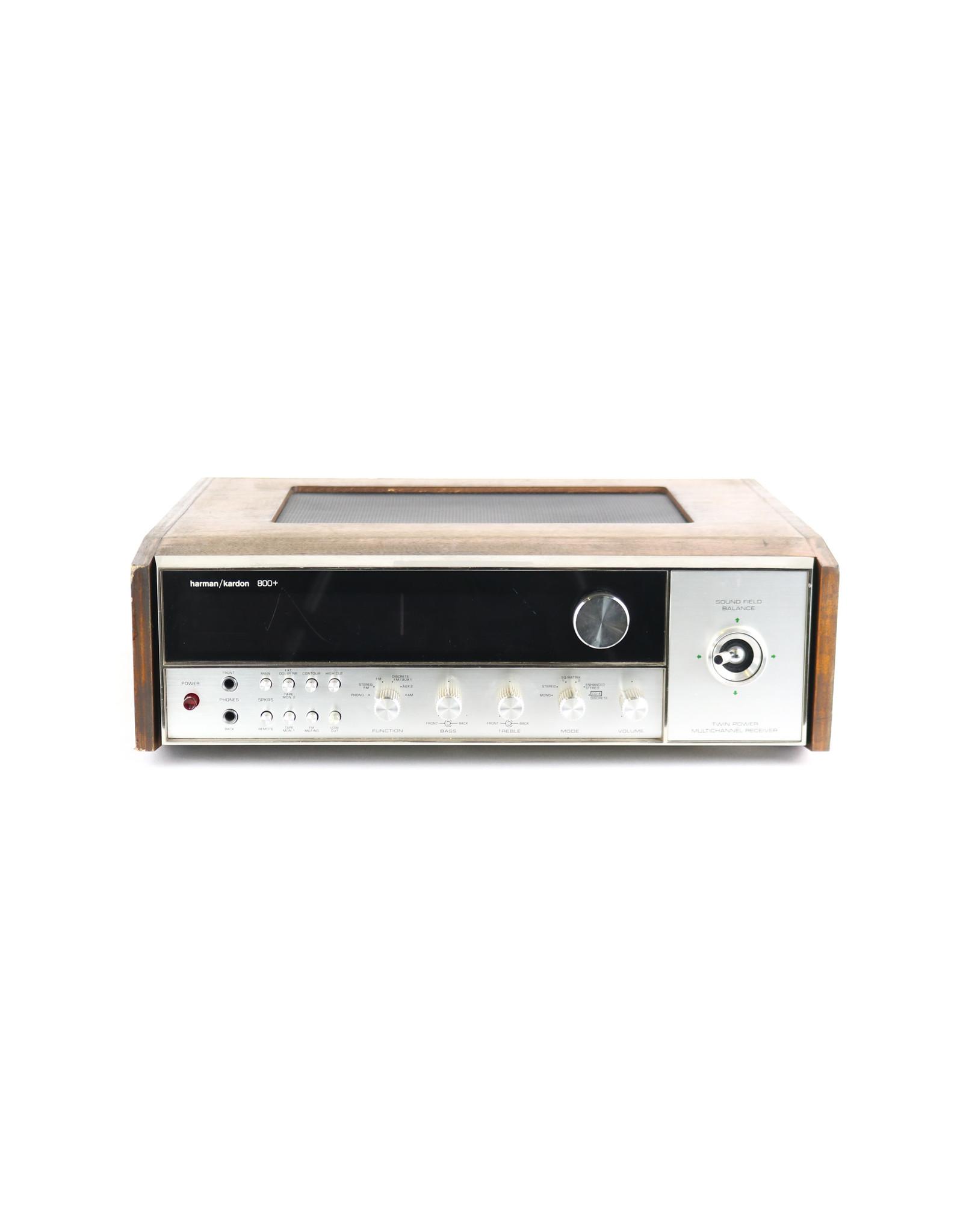 Harman/Kardon Harman/Kardon 800+ Quadraphonic Receiver USED