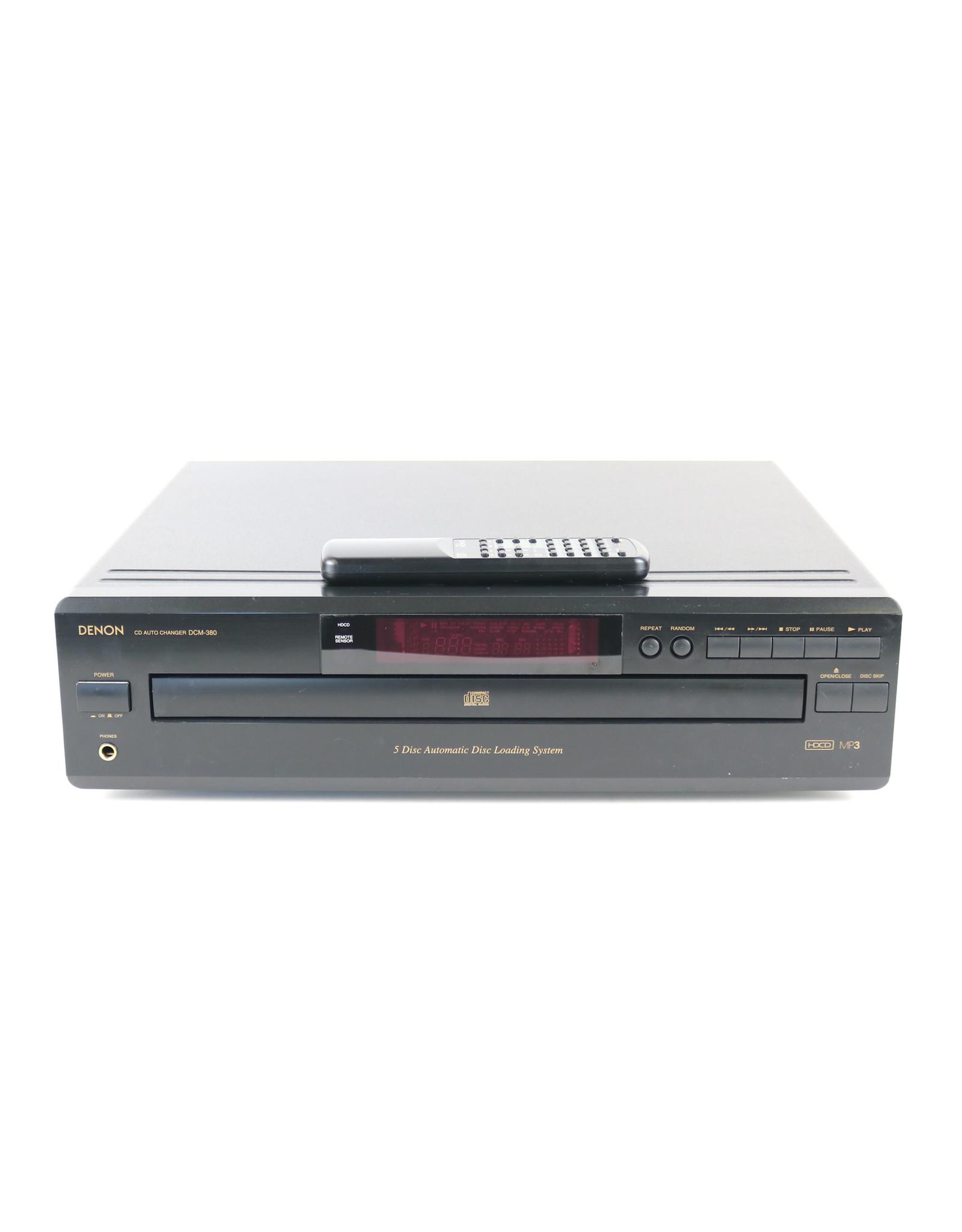 Denon Denon DCM-380 5-Disc CD Changer USED