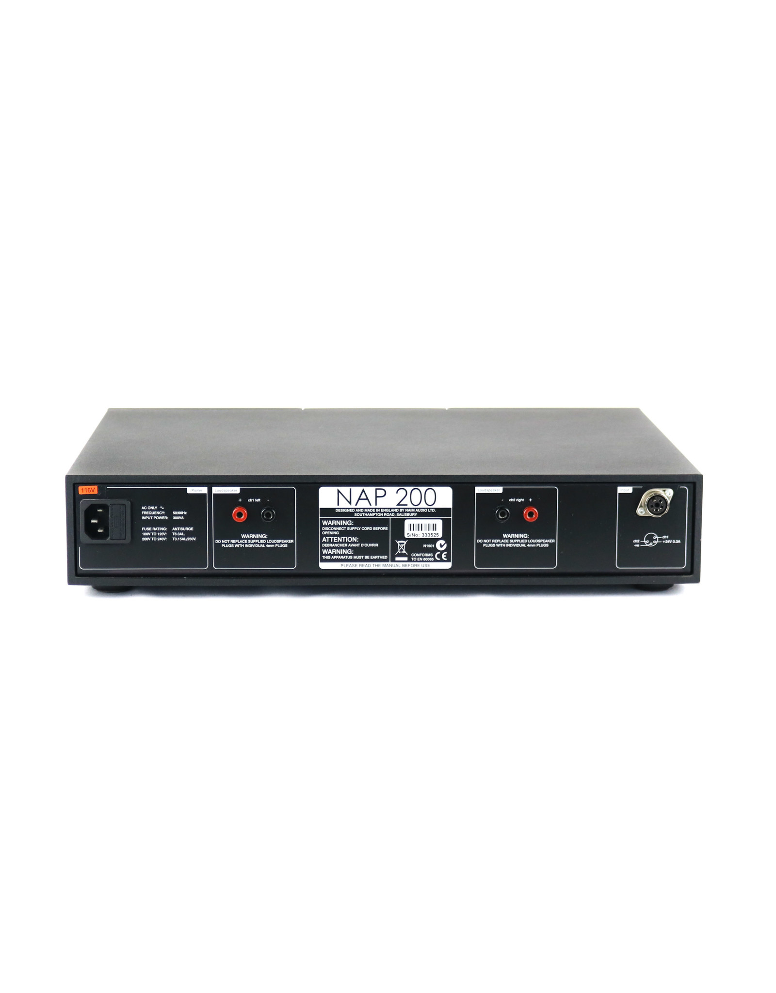 Naim Audio Naim Audio NAP 200 Power Amplifier USED