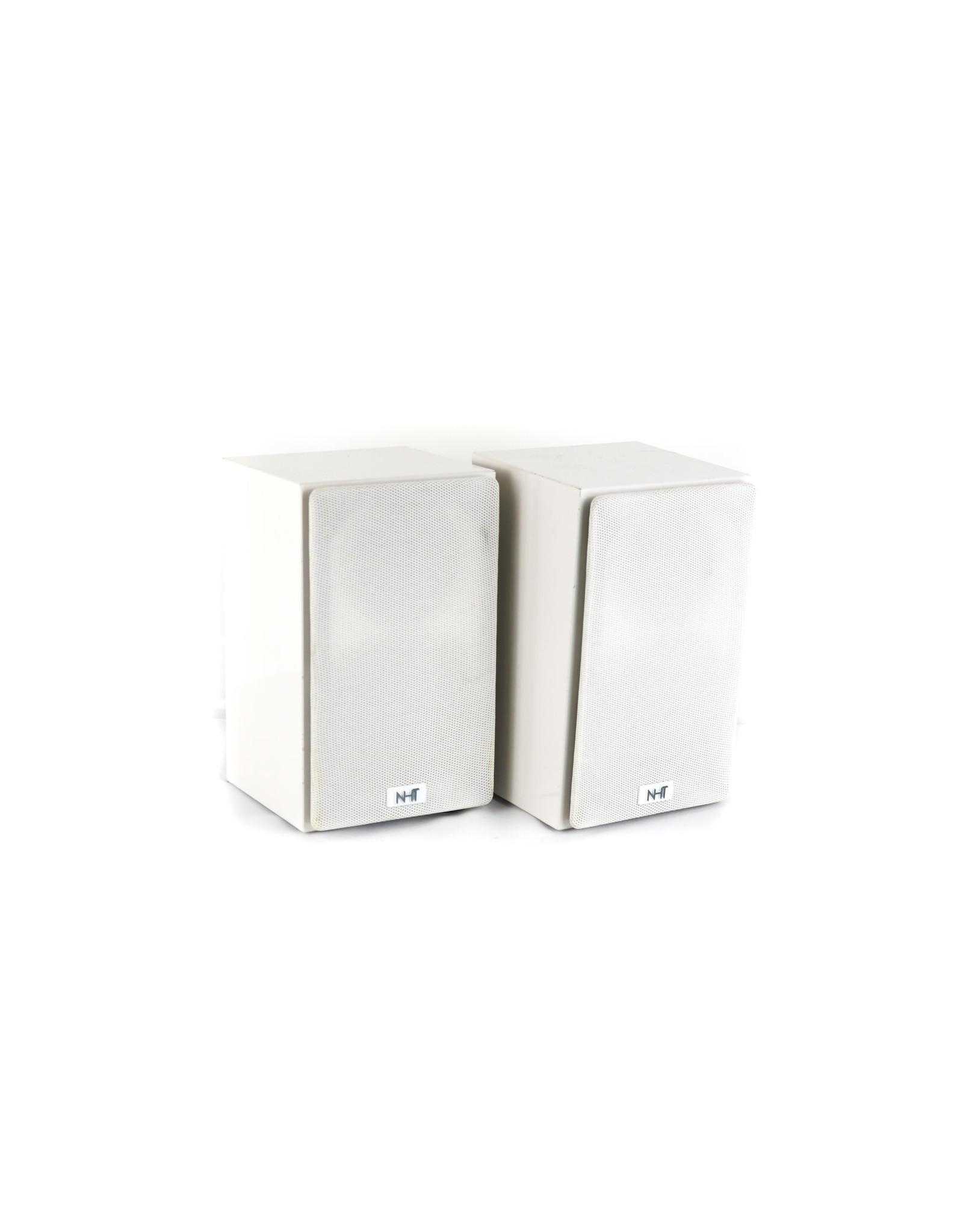 NHT NHT SuperZero Bookshelf Speakers White USED