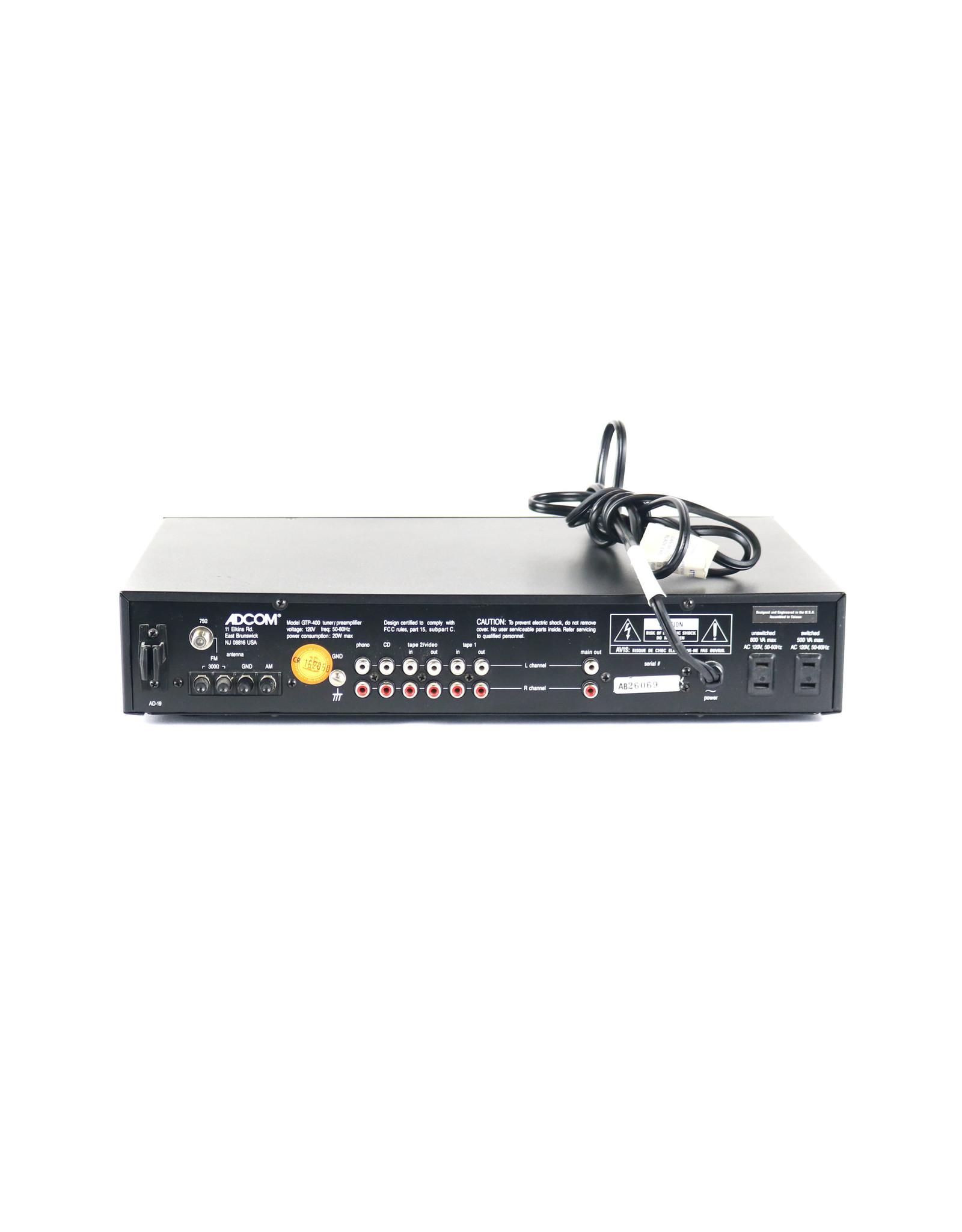 Adcom Adcom GTP-400 Tuner Preamp USED