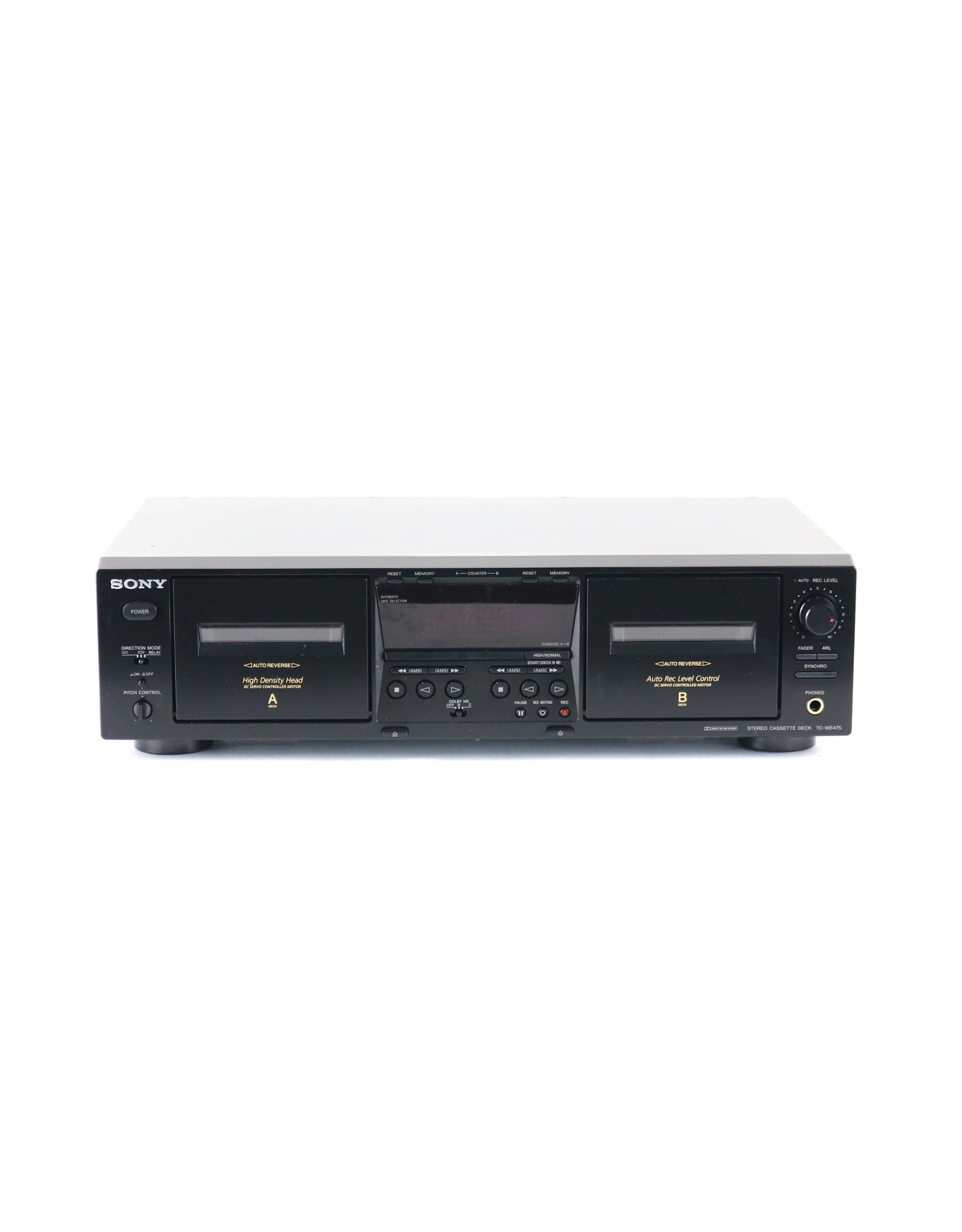 Sony Sony TC-WE475 Dual Cassette Deck USED