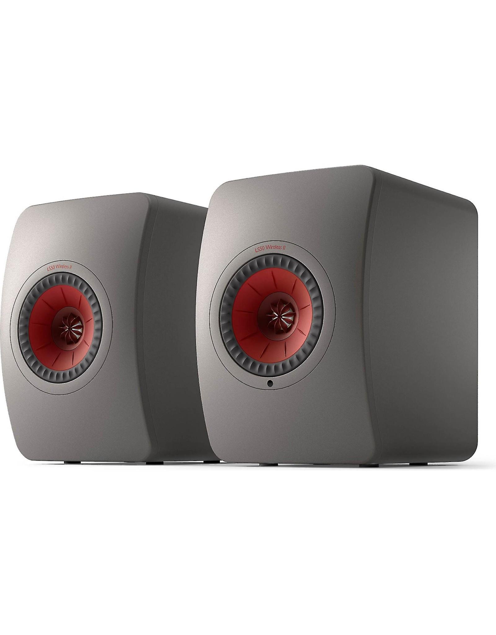 KEF KEF LS50 Wireless II Powered Bookshelf Speakers