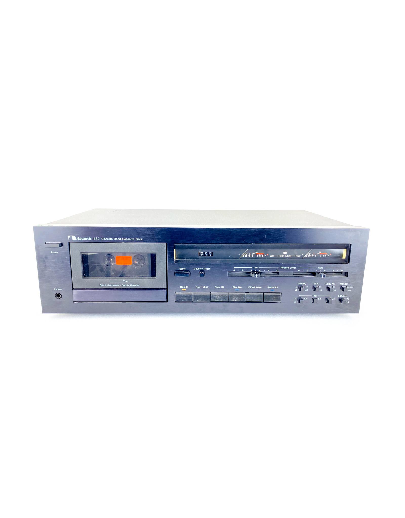 Nakamichi Nakamichi 482 Cassette Deck USED
