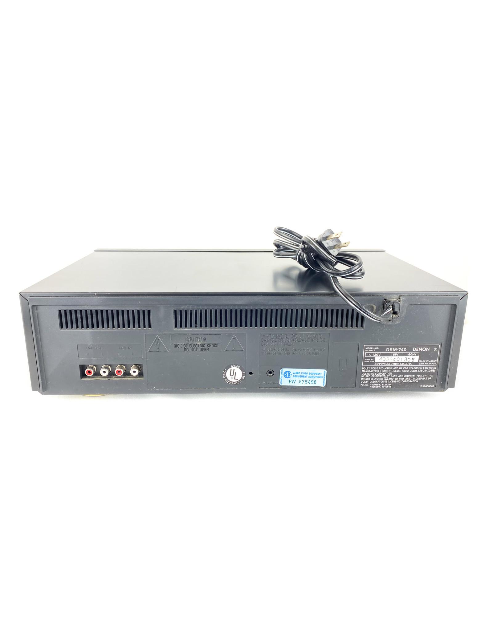 Denon Denon DRM-740 Cassette Deck USED
