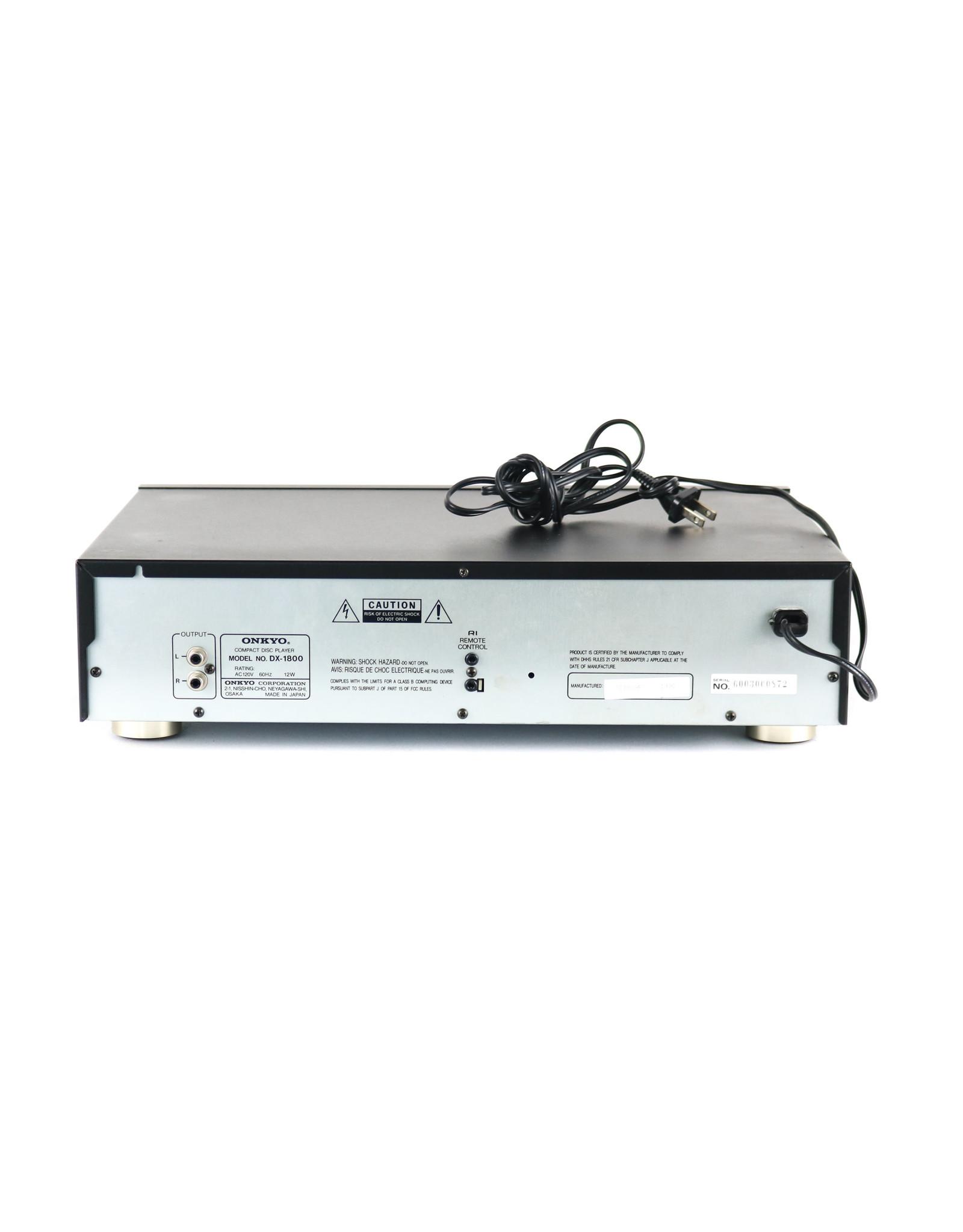 Onkyo Onkyo DX-1800 CD Player USED