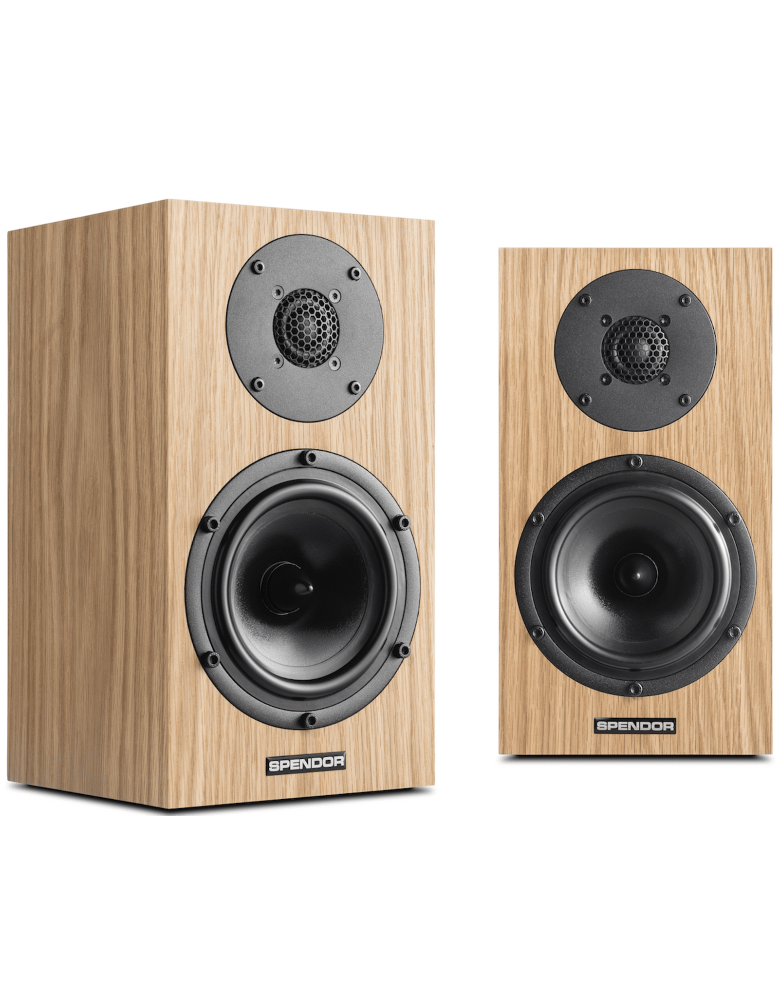 Spendor Spendor A1 Bookshelf Speakers Natural Oak EX-DEMO (Not Used)