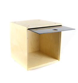 Simple Wood Goods Simple Wood Goods Storage Cube USED