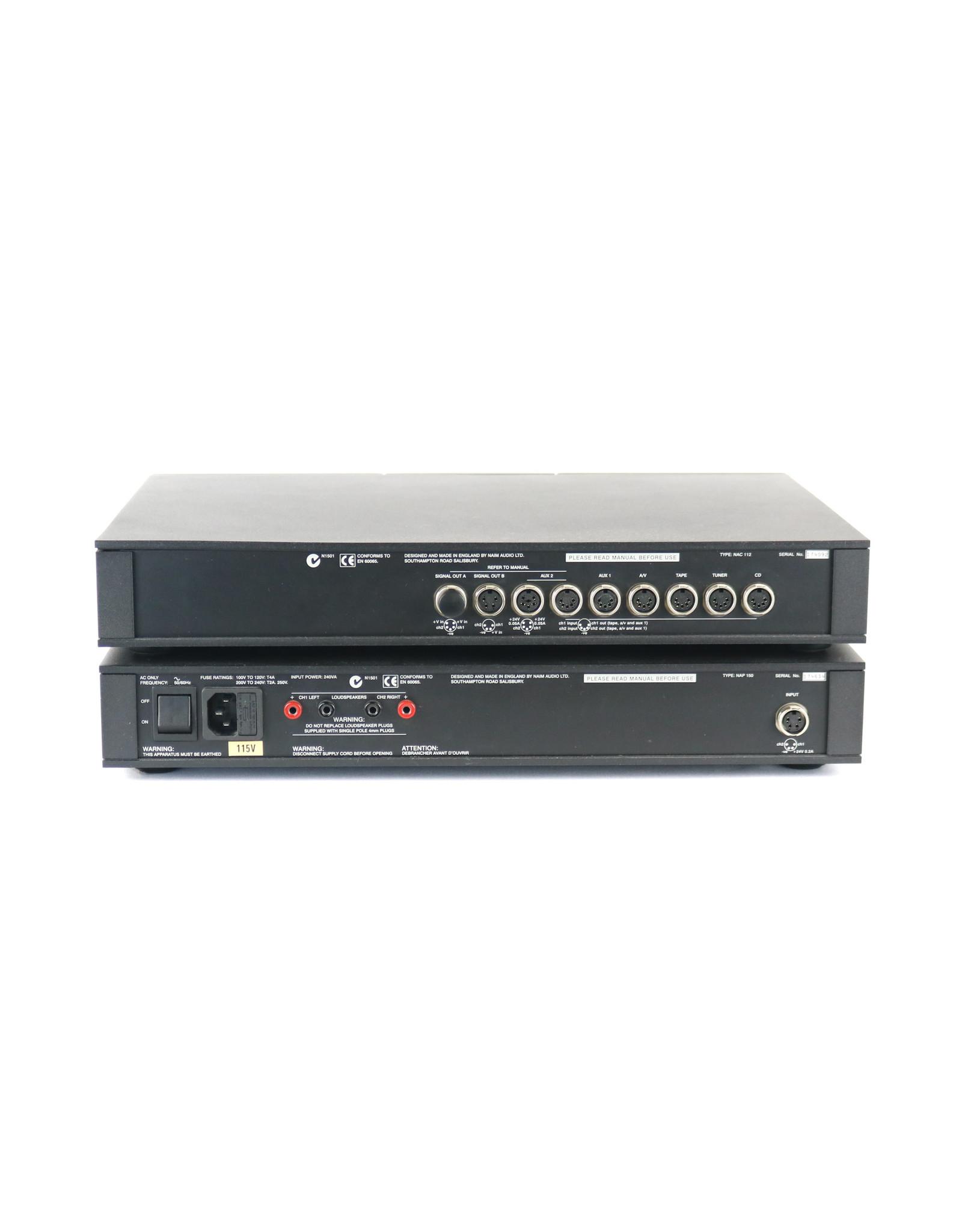 Naim Audio Naim Audio NAC112 / NAP150 Pre+Power Combo USED