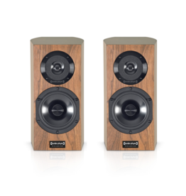 Audio Physic Audio Physic Step Plus Bookshelf Speakers Walnut EX-DEMO USED