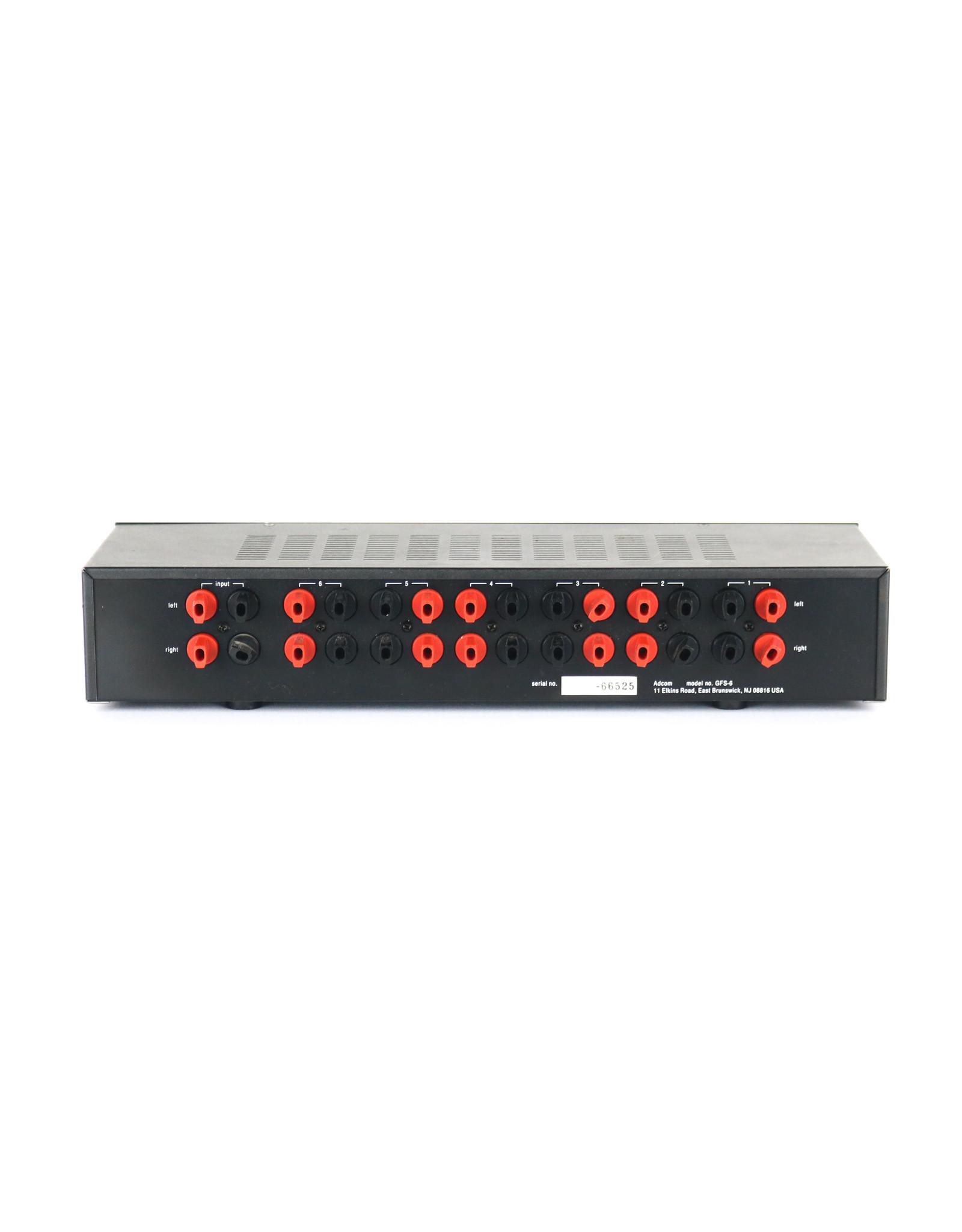 Adcom Adcom GFS-6 Speaker Selector Switch USED