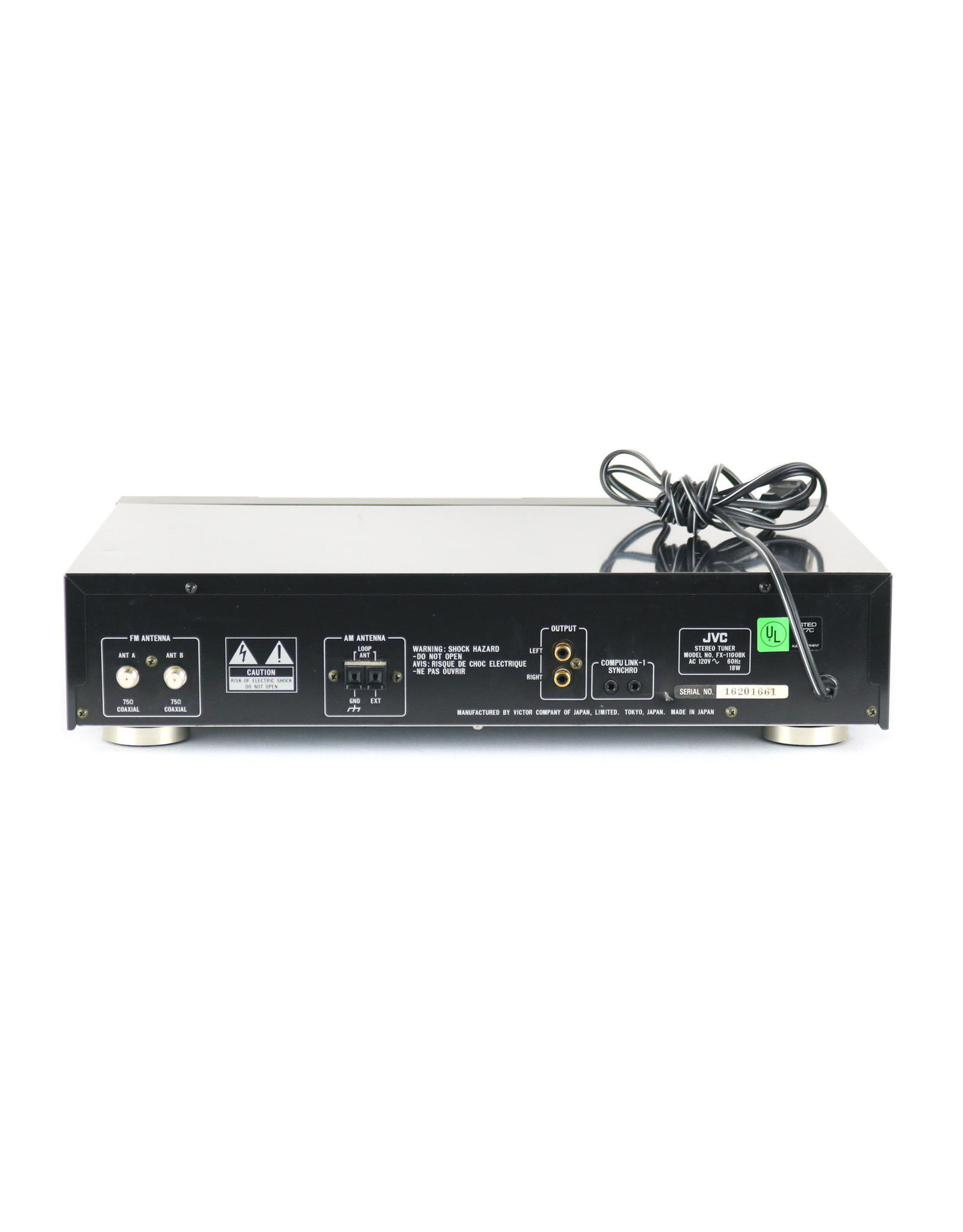 JVC JVC FX-1100 Tuner USED