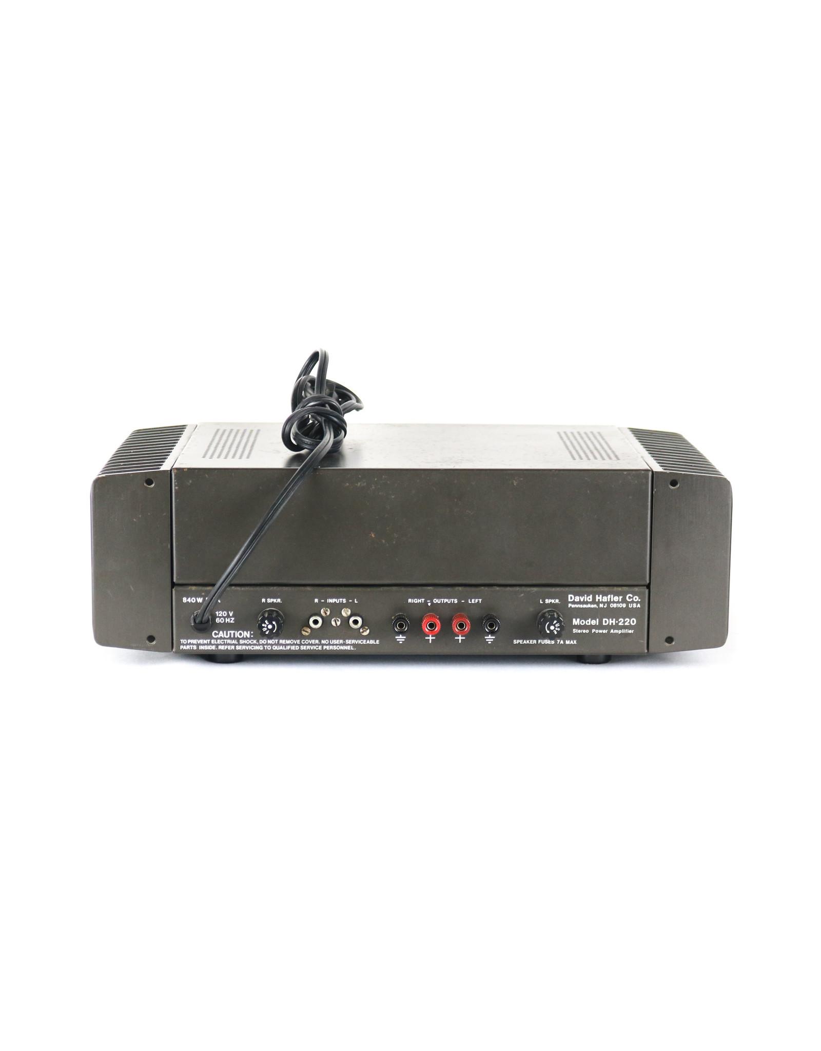 Hafler Hafler DH-220 Power Amp USED